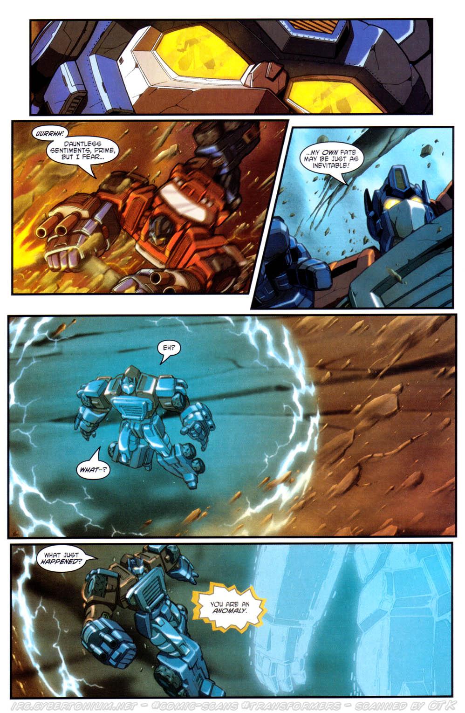 Read online Transformers Armada comic -  Issue #17 - 6