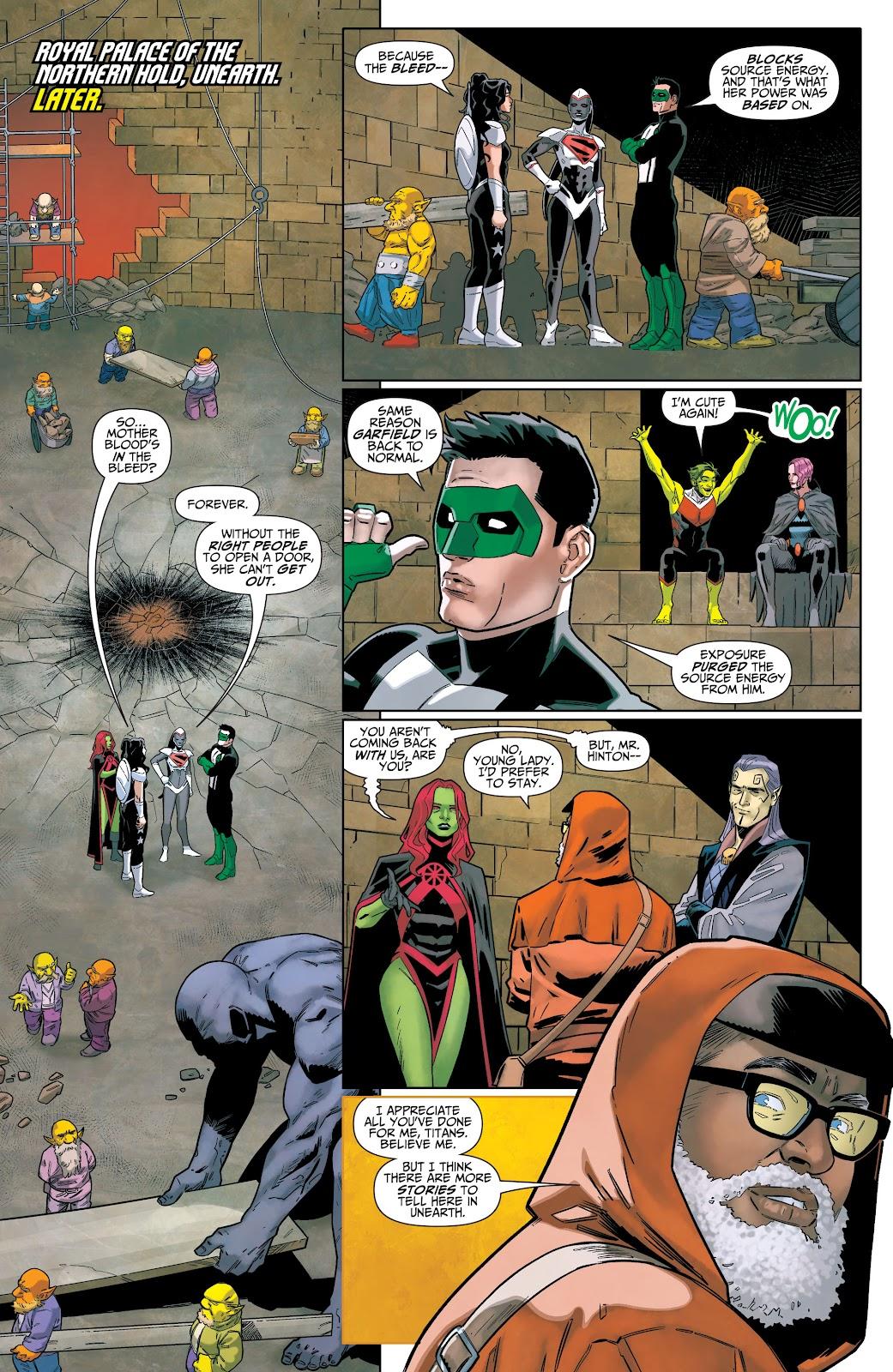 Read online Titans (2016) comic -  Issue #36 - 19