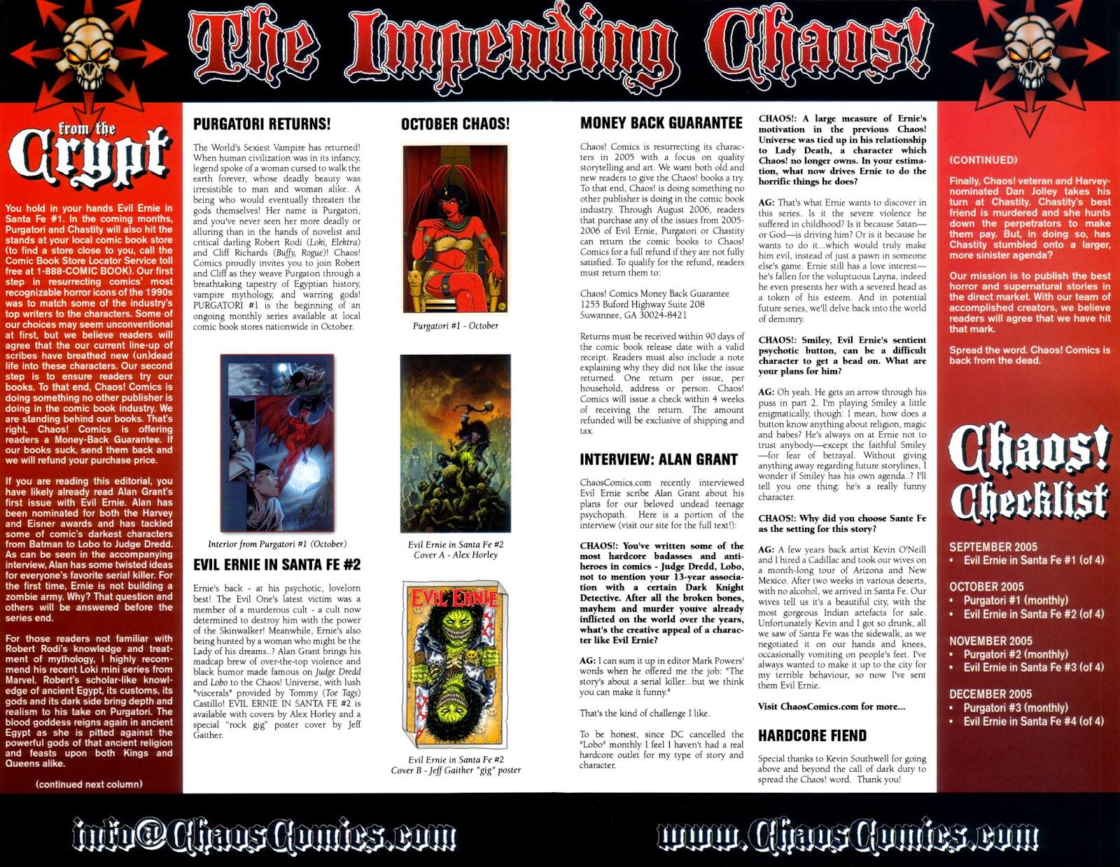Read online Evil Ernie in Santa Fe comic -  Issue #1 - 25