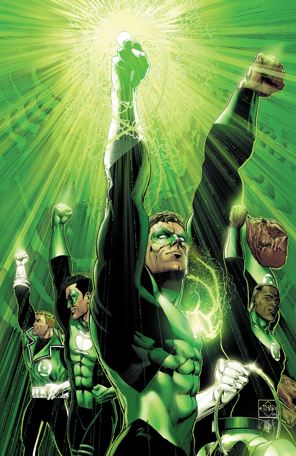Read online Green Lantern by Geoff Johns comic -  Issue # TPB 1 (Part 2) - 33