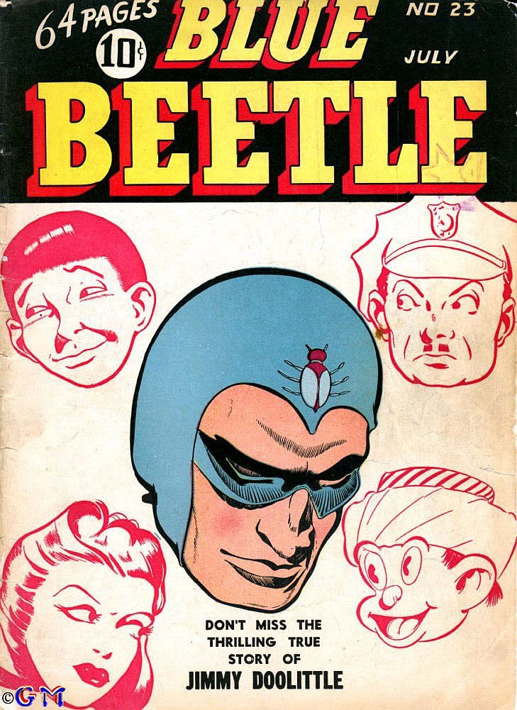 The Blue Beetle issue 23 - Page 1