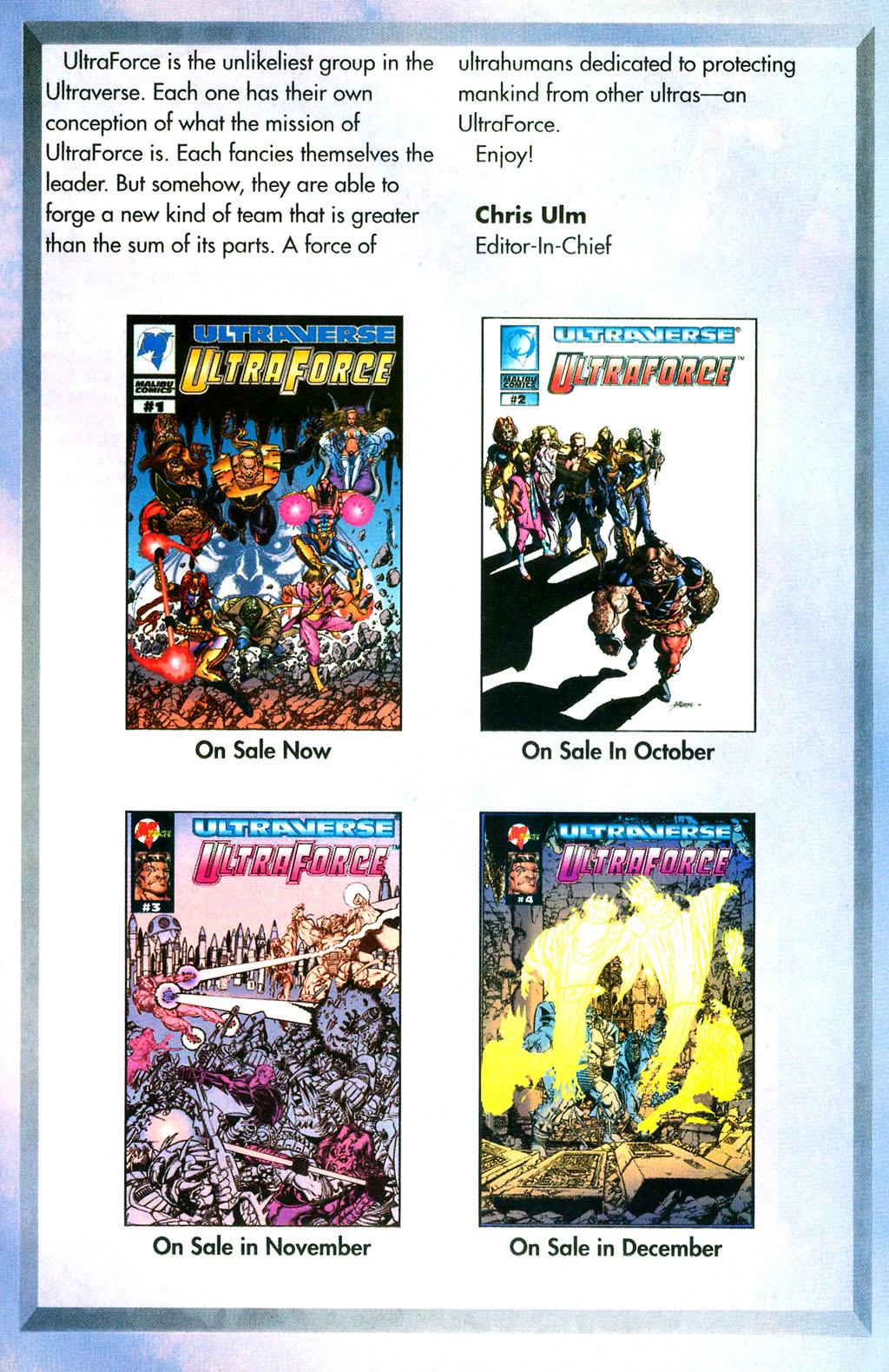 Read online UltraForce (1994) comic -  Issue #0 - 29