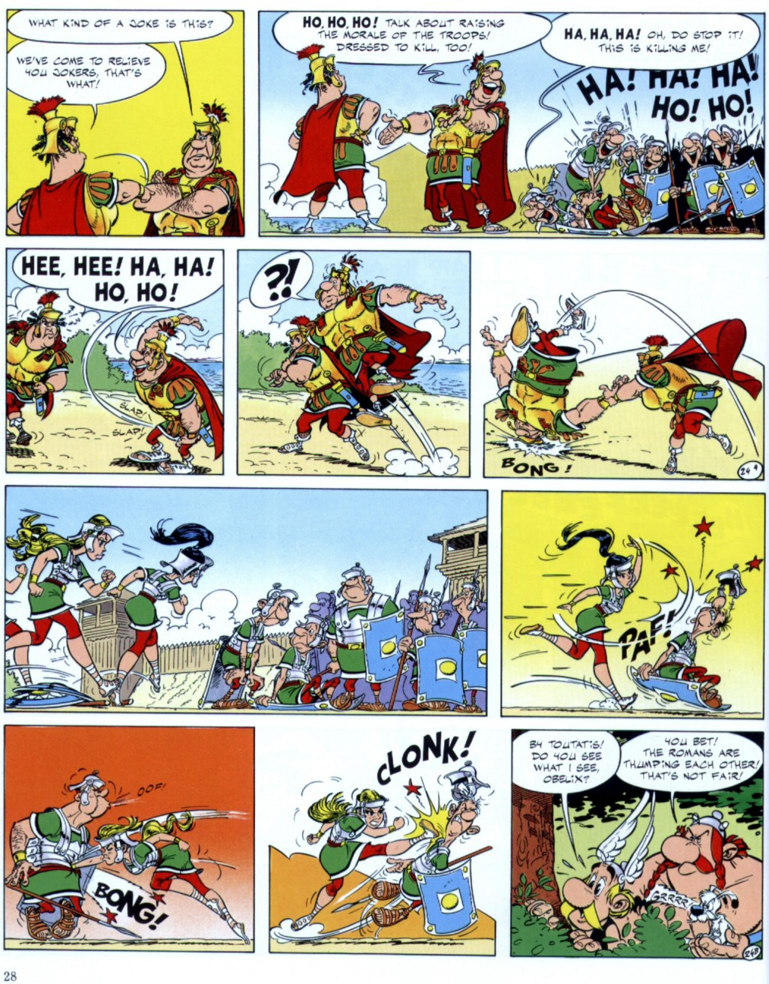 Read online Asterix comic -  Issue #29 - 26