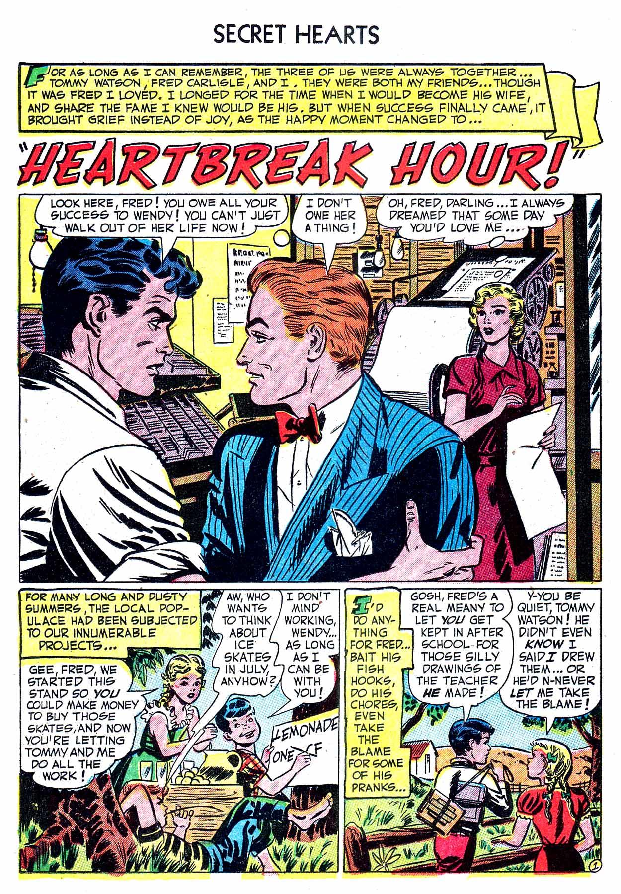 Read online Secret Hearts comic -  Issue #8 - 18
