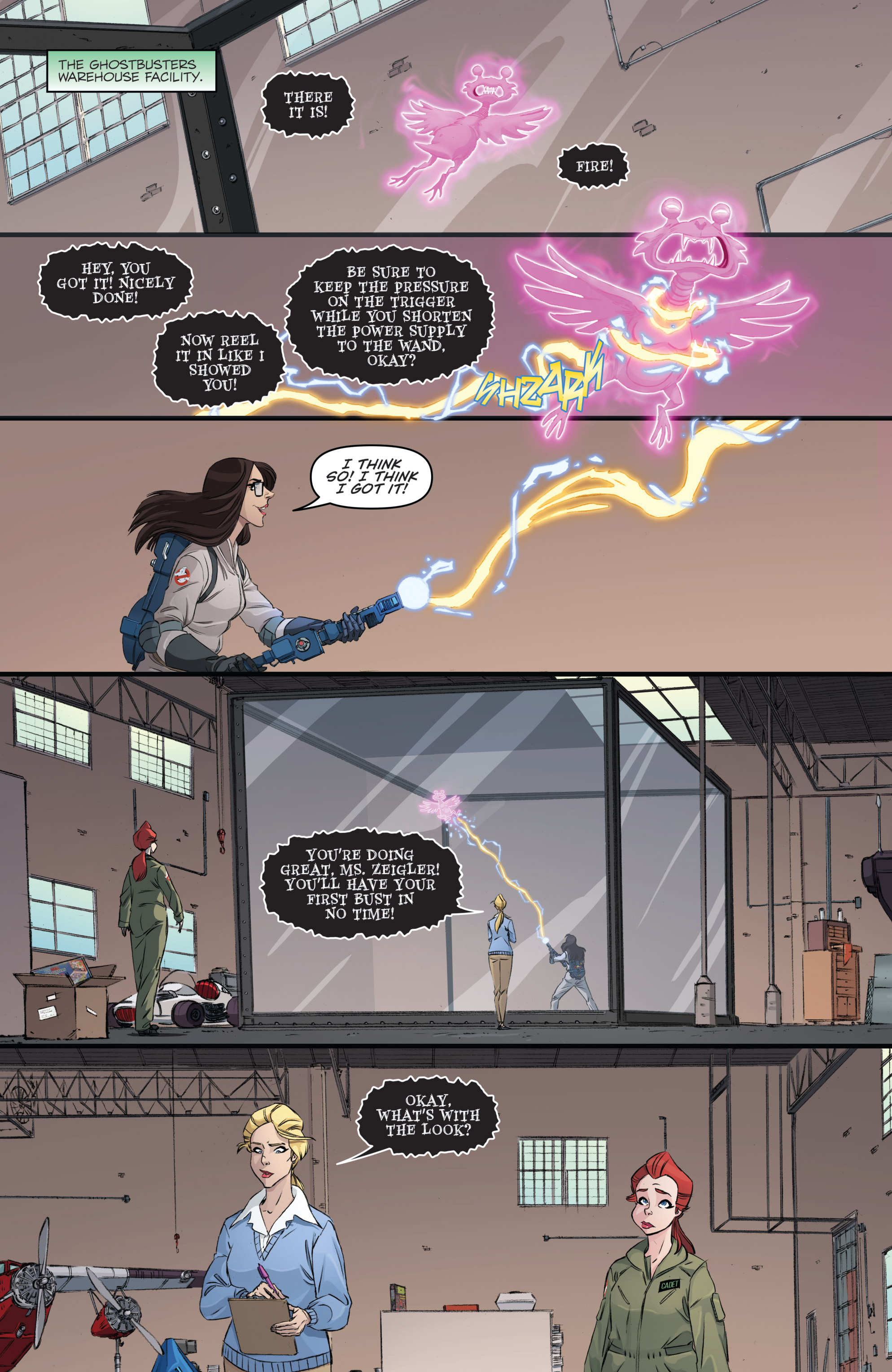 Read online Ghostbusters 101 comic -  Issue #3 - 6