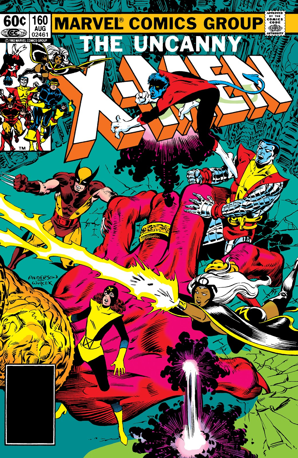 Uncanny X-Men (1963) issue 160 - Page 1