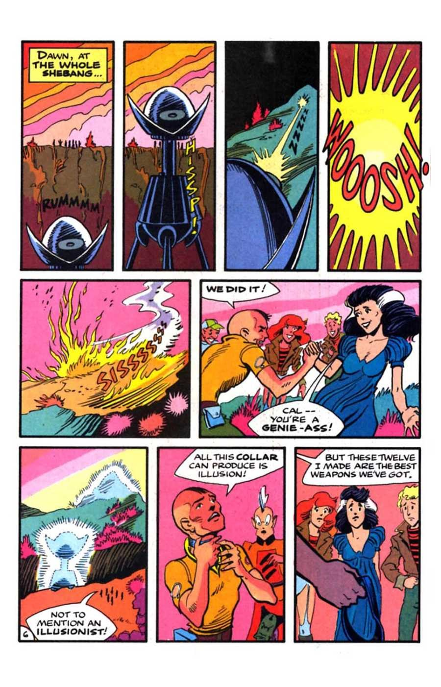 Read online Mars comic -  Issue #9 - 8