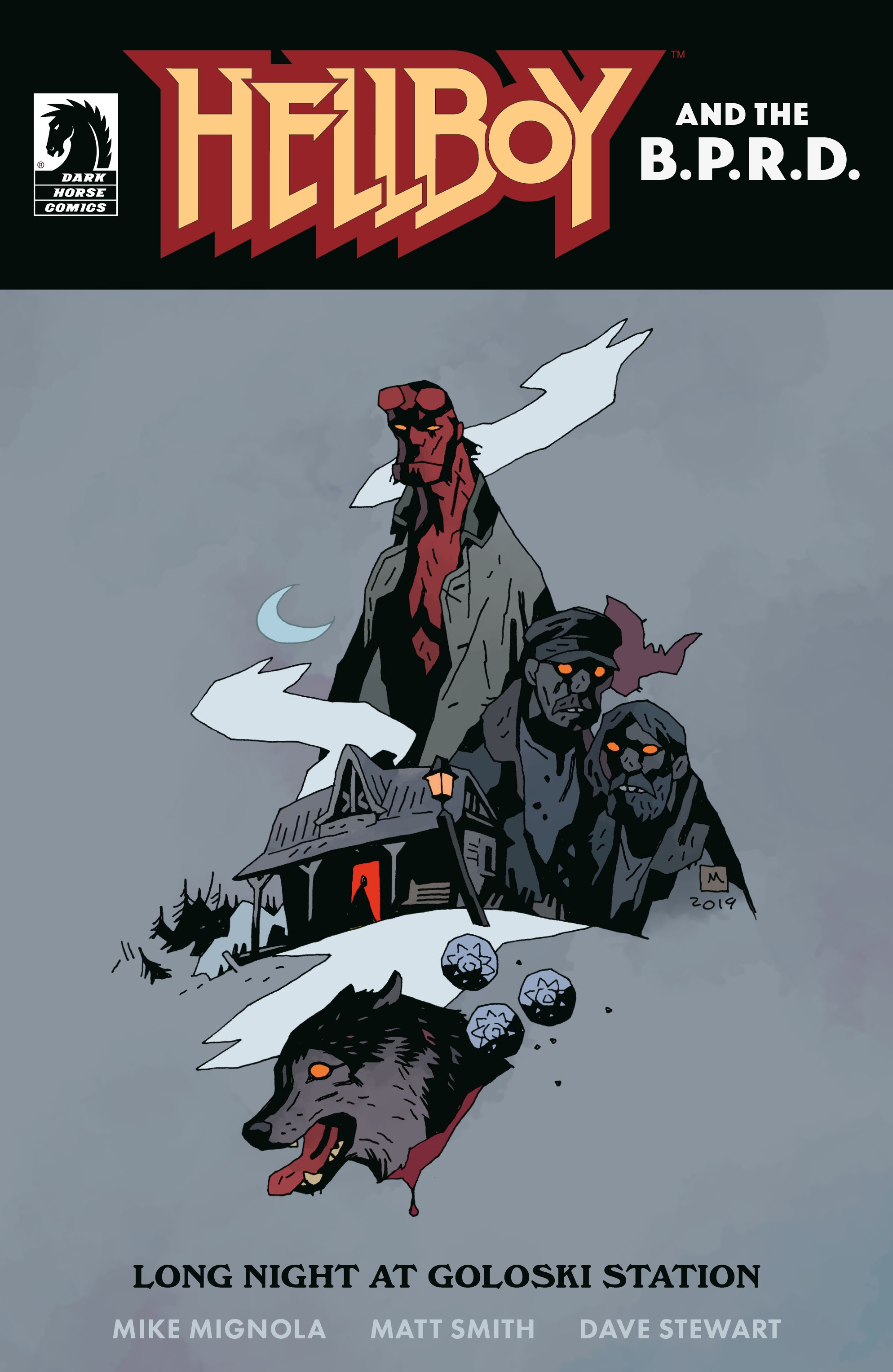 Hellboy and the B.P.R.D.: Long Night at Goloski Station Full Page 1
