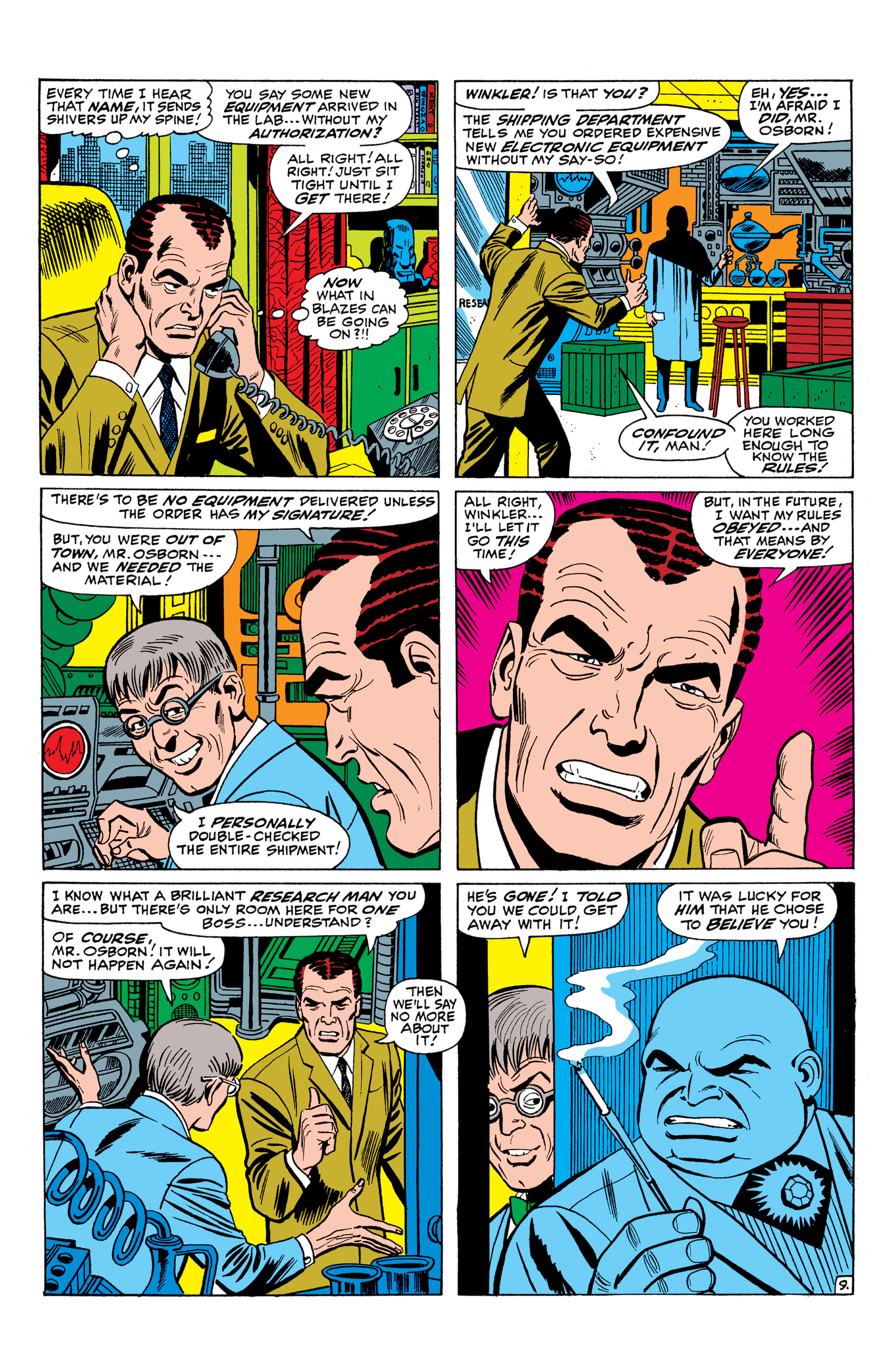 The Amazing Spider-Man (1963) 61 Page 9