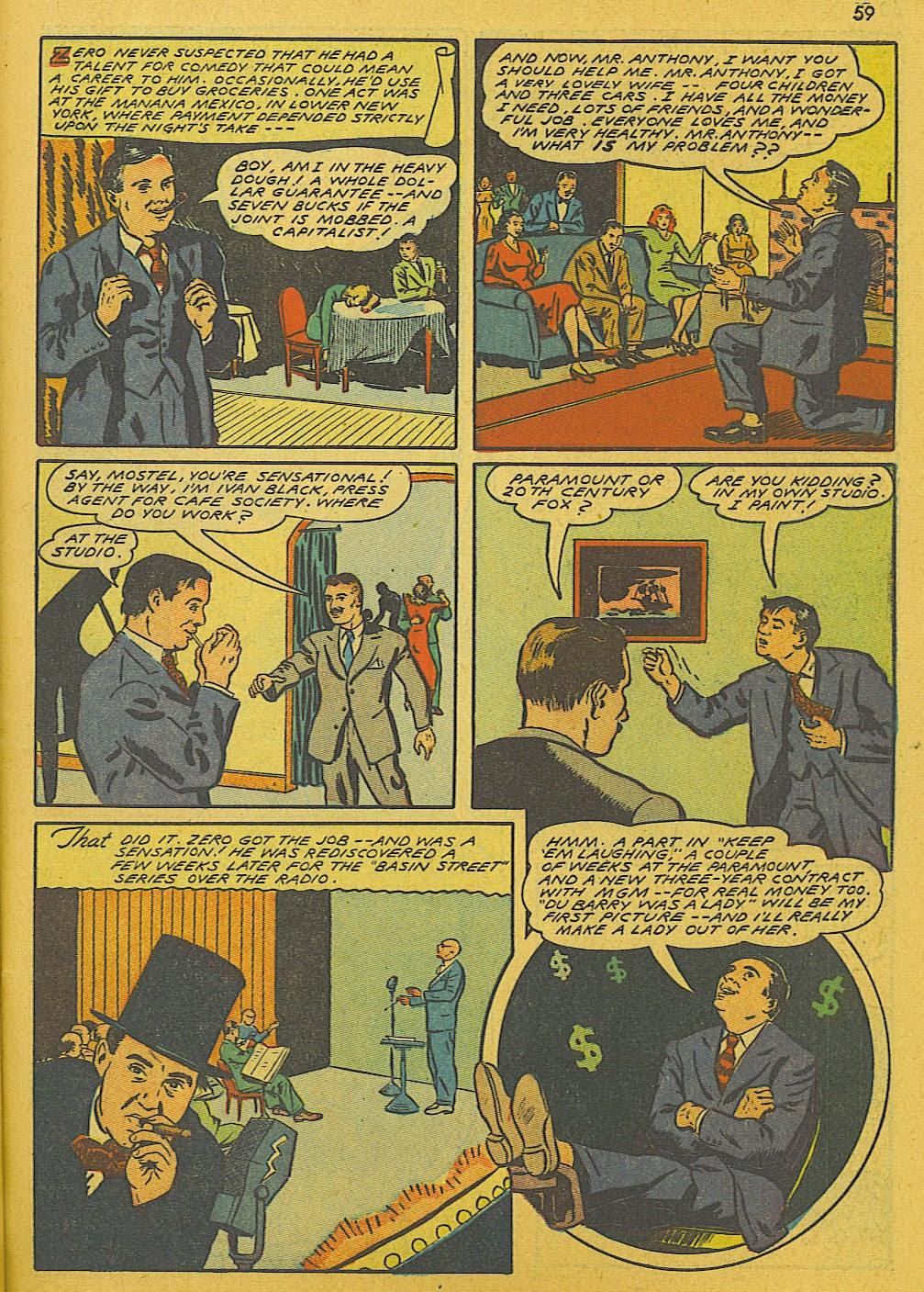 Read online Super-Magician Comics comic -  Issue #10 - 59