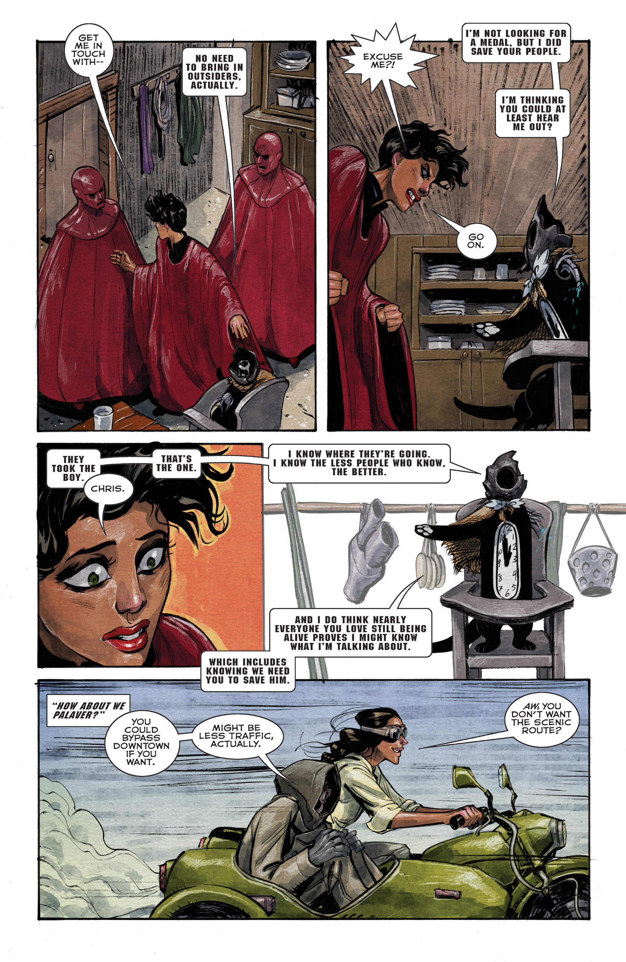 Read online Shutter comic -  Issue #14 - 10