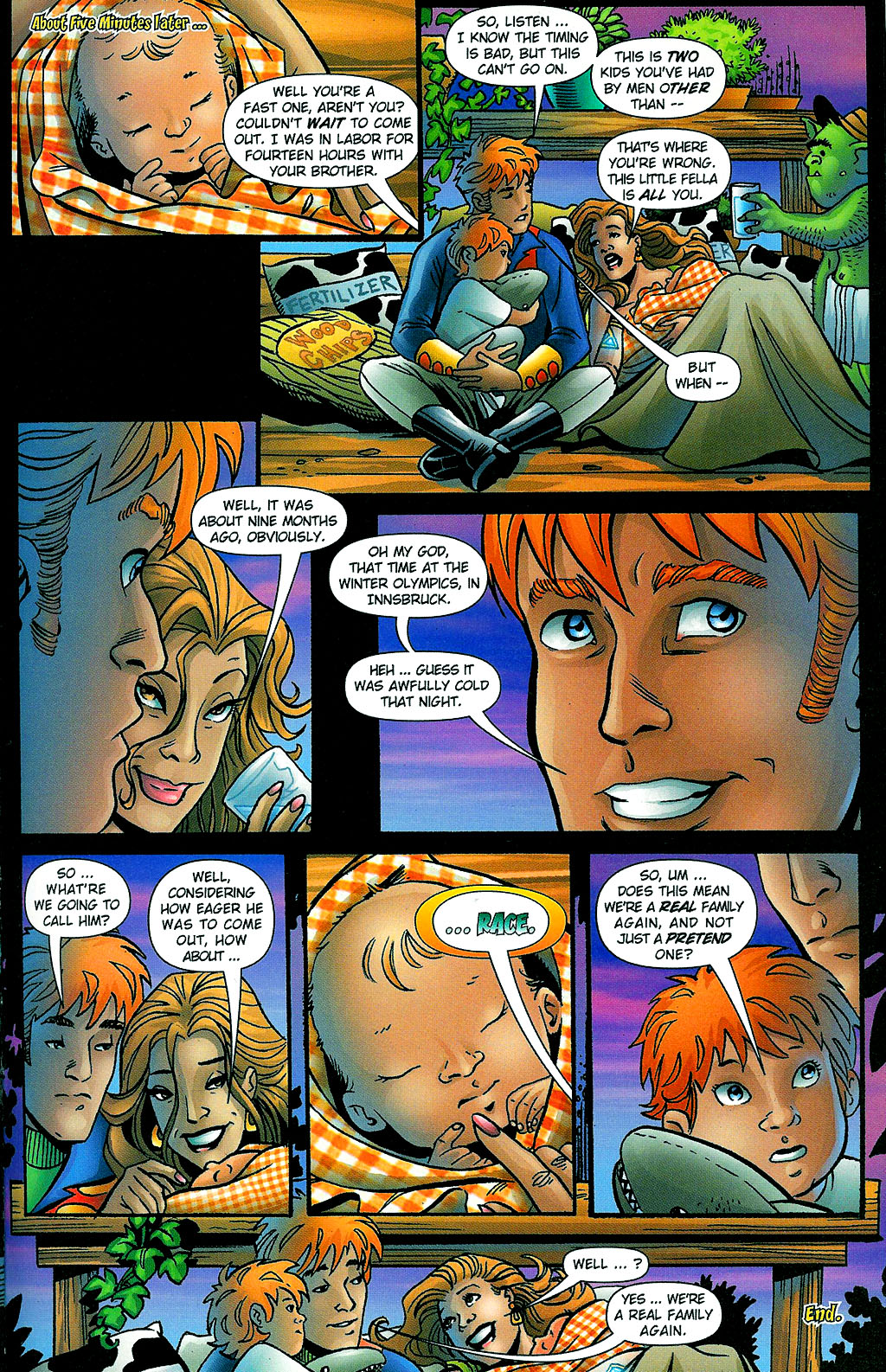Read online Noble Causes (2002) comic -  Issue #1 - 27