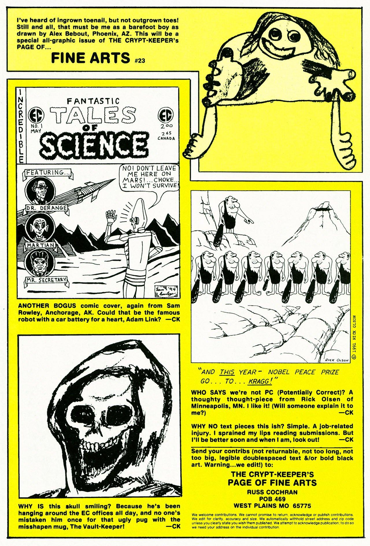 Read online Shock SuspenStories comic -  Issue #10 - 19