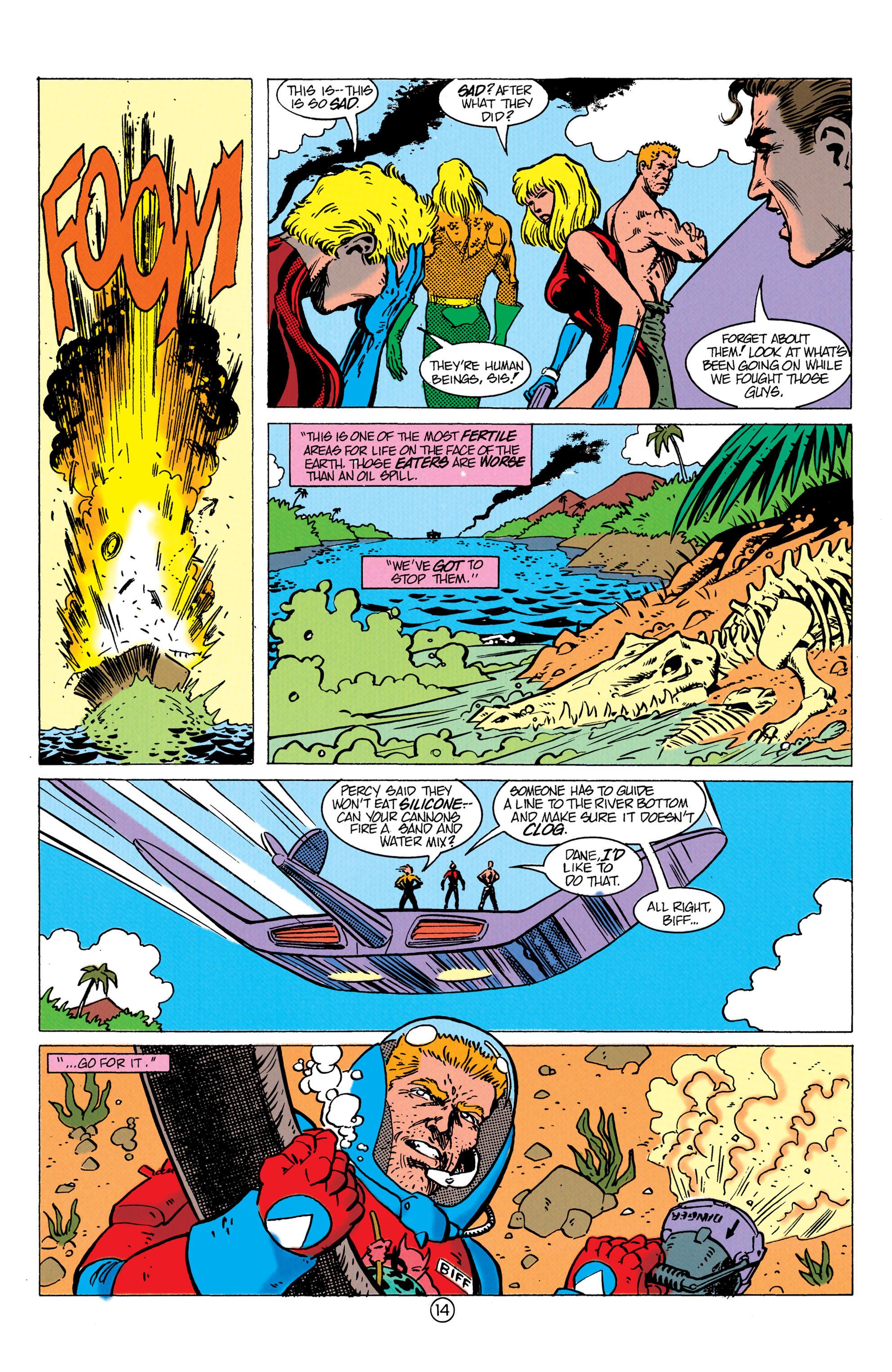 Read online Aquaman (1991) comic -  Issue #10 - 15