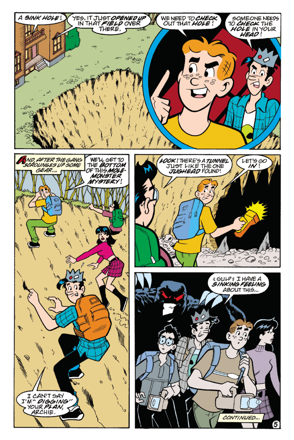 Read online Archie's Weird Mysteries comic -  Issue #22 - 19