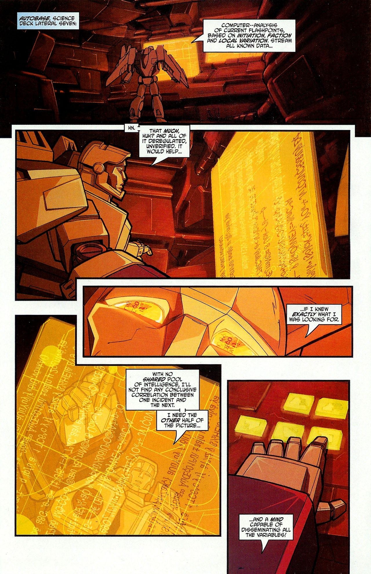 """Read online Transformers War Within: """"The Dark Ages"""" comic -  Issue #3 - 15"""