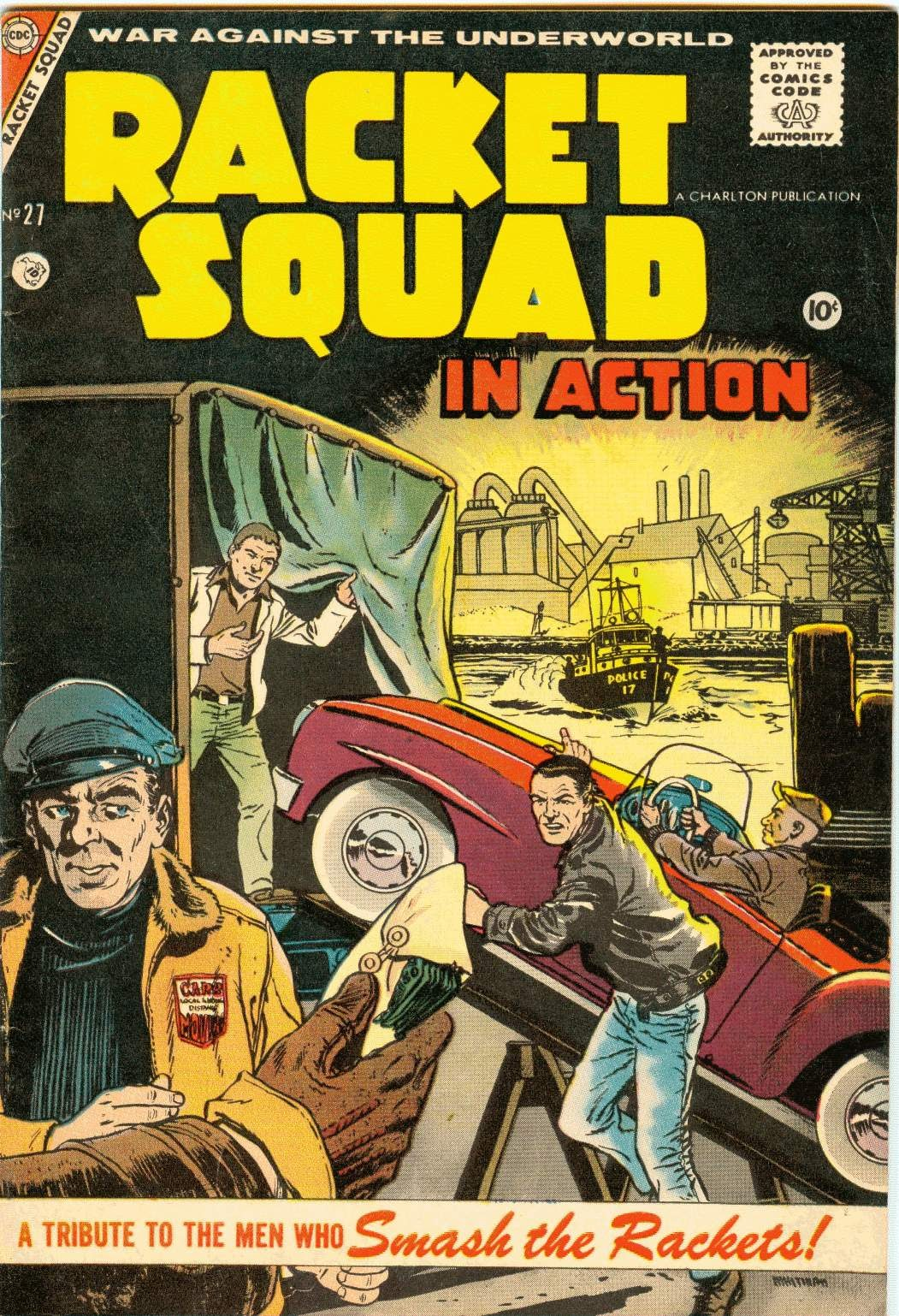 Read online Racket Squad in Action comic -  Issue #27 - 1