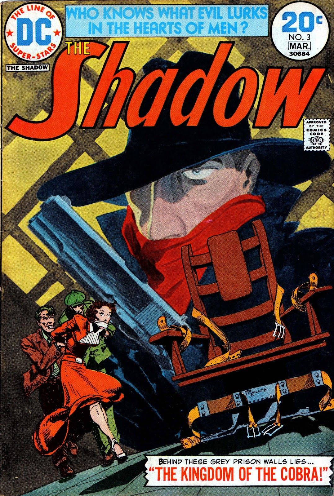 The Shadow (1973) issue 3 - Page 1