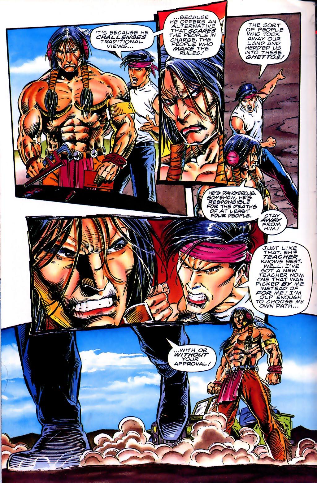 Read online Turok, Dinosaur Hunter (1993) comic -  Issue #41 - 5