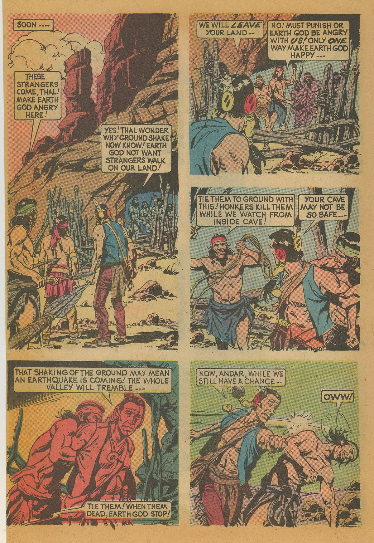 Read online Turok, Son of Stone comic -  Issue #112 - 22
