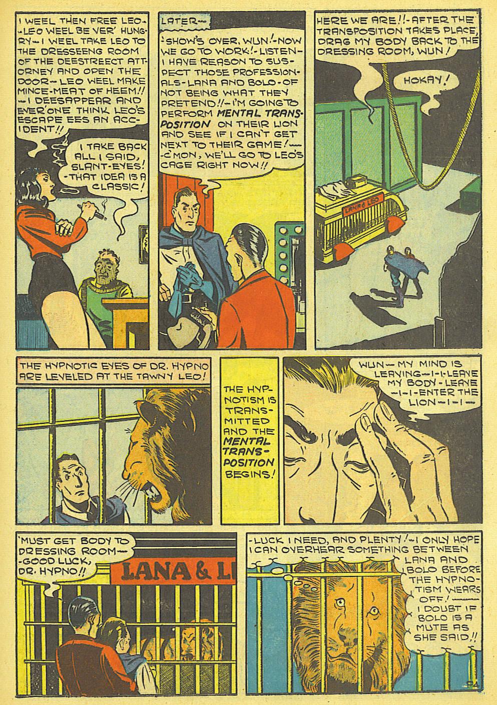 Read online Amazing Man Comics comic -  Issue #19 - 27