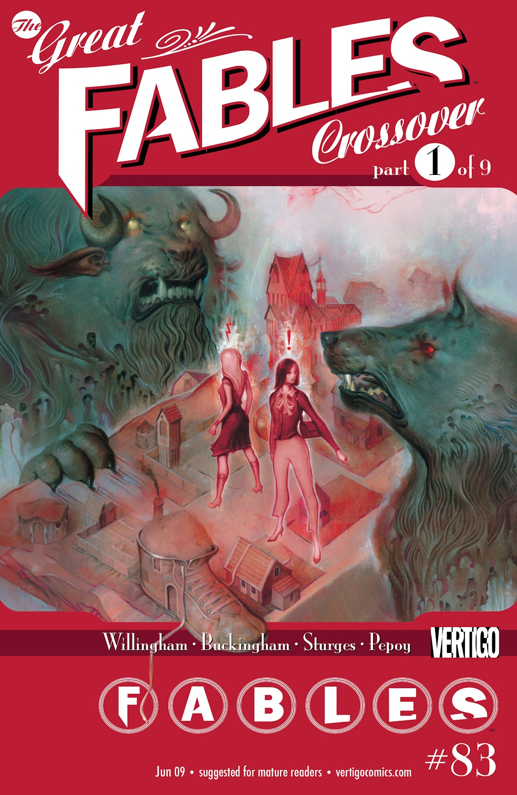 Fables issue 83 - Page 1