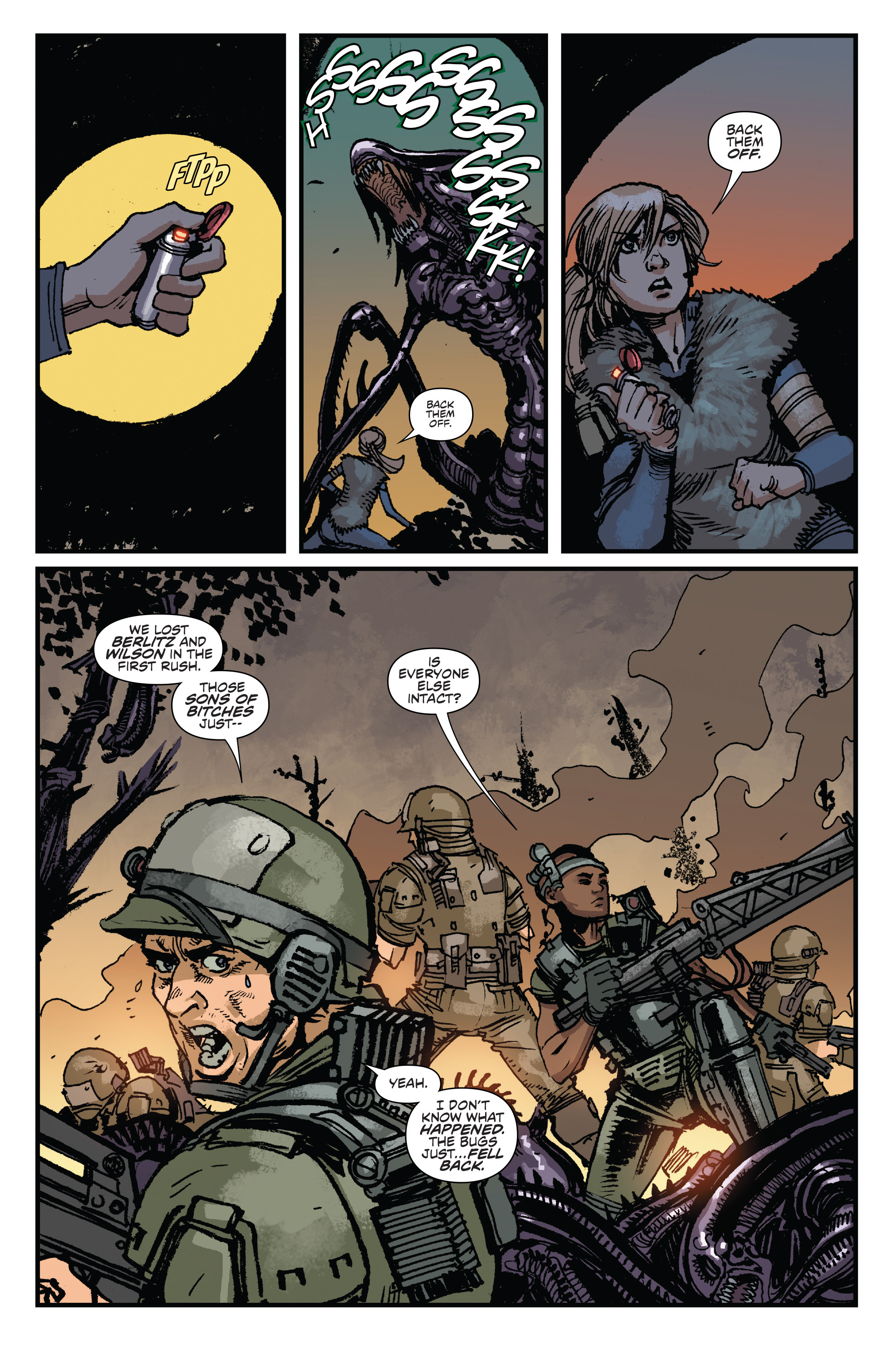 Read online Aliens: Life And Death comic -  Issue #3 - 22