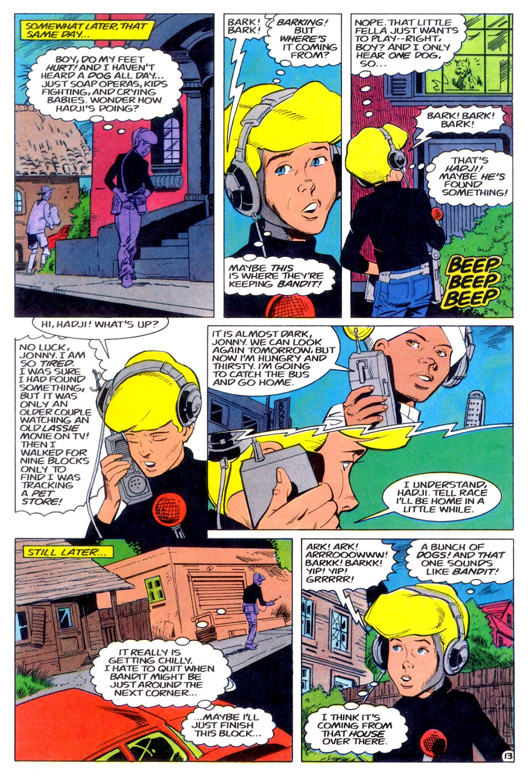 Jonny Quest (1986) issue 11 - Page 16