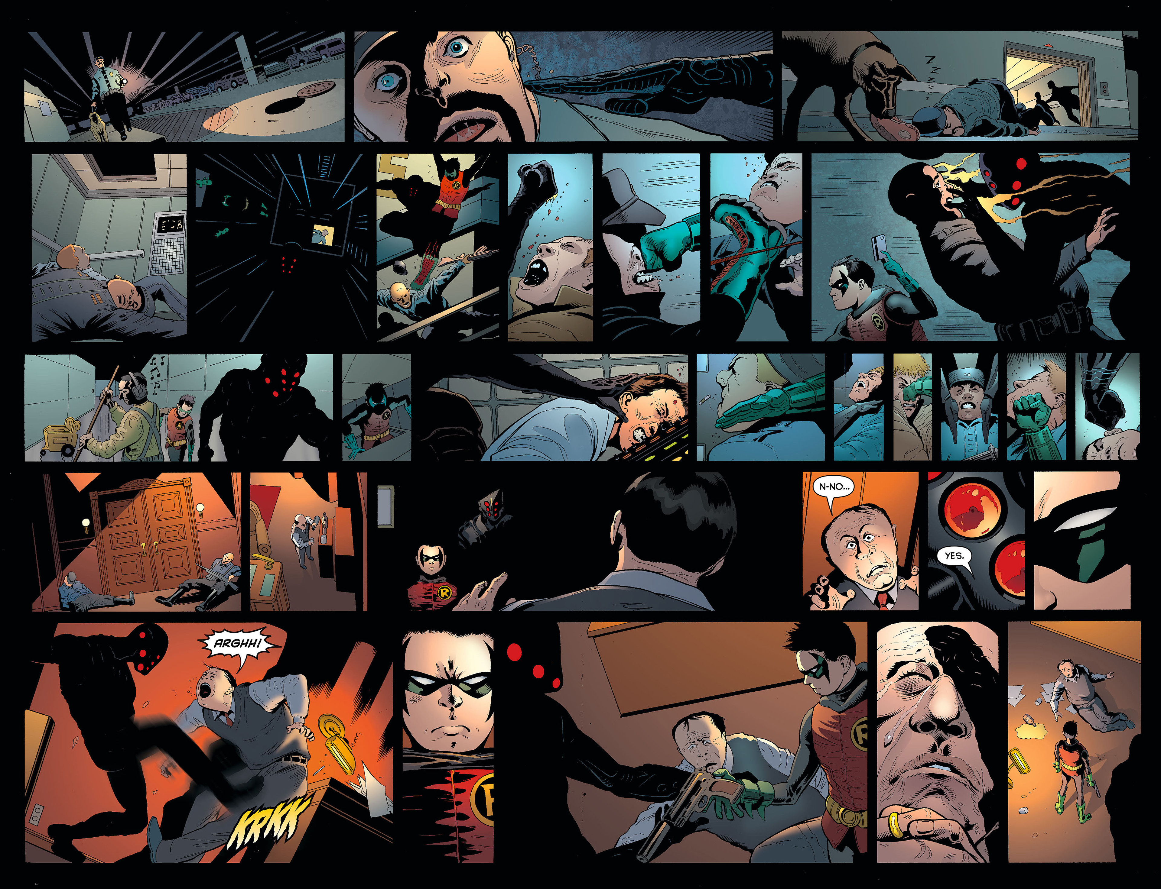 Read online Batman and Robin (2011) comic -  Issue #5 - 18