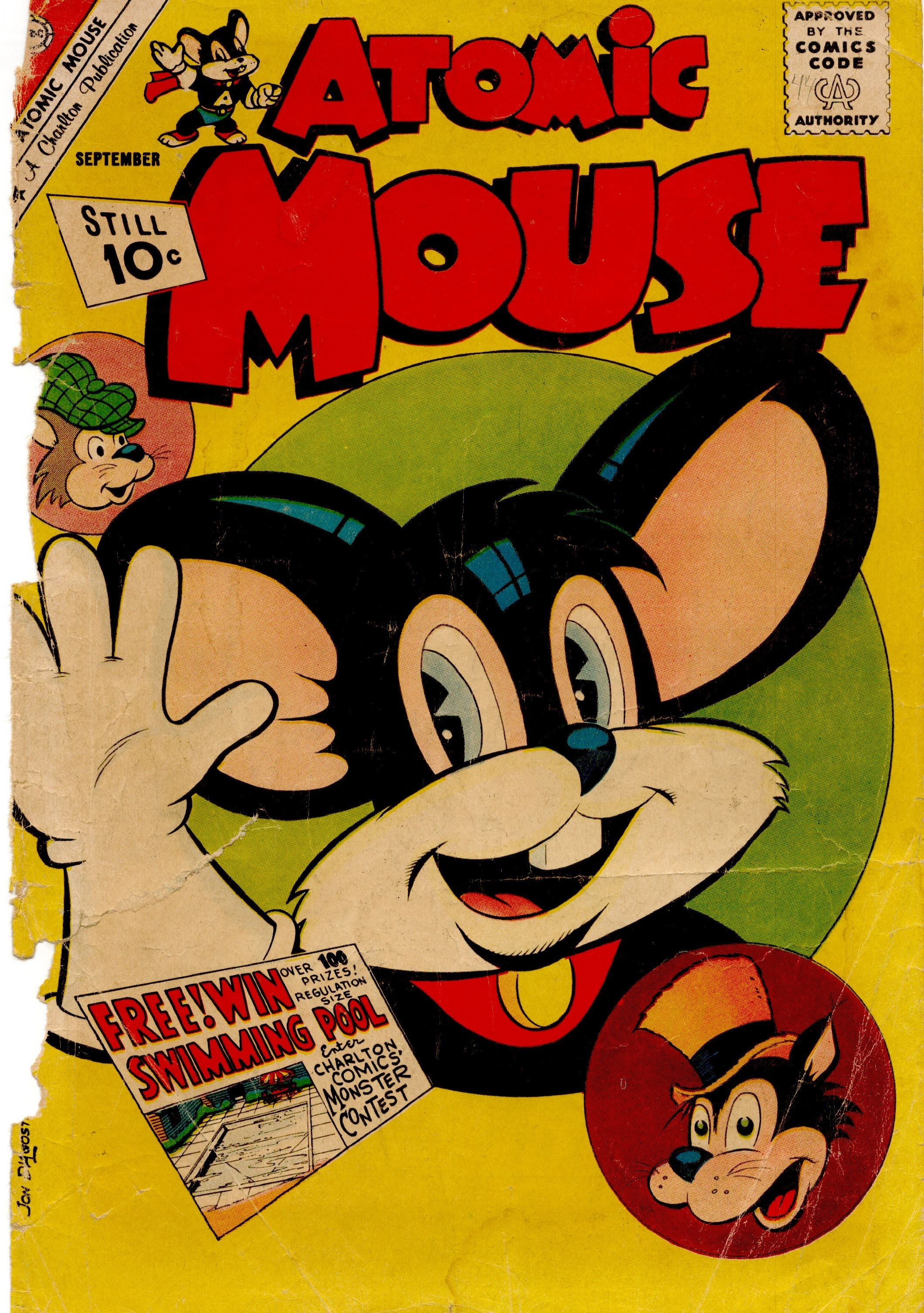 Atomic Mouse 44 Page 1