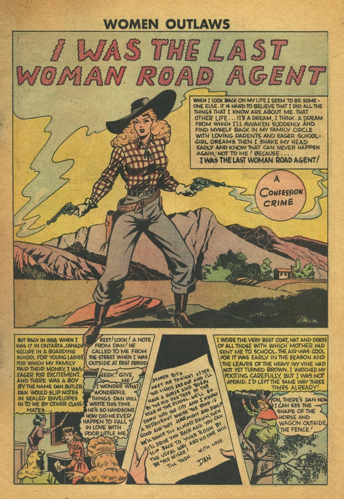 Read online Women Outlaws comic -  Issue #6 - 11