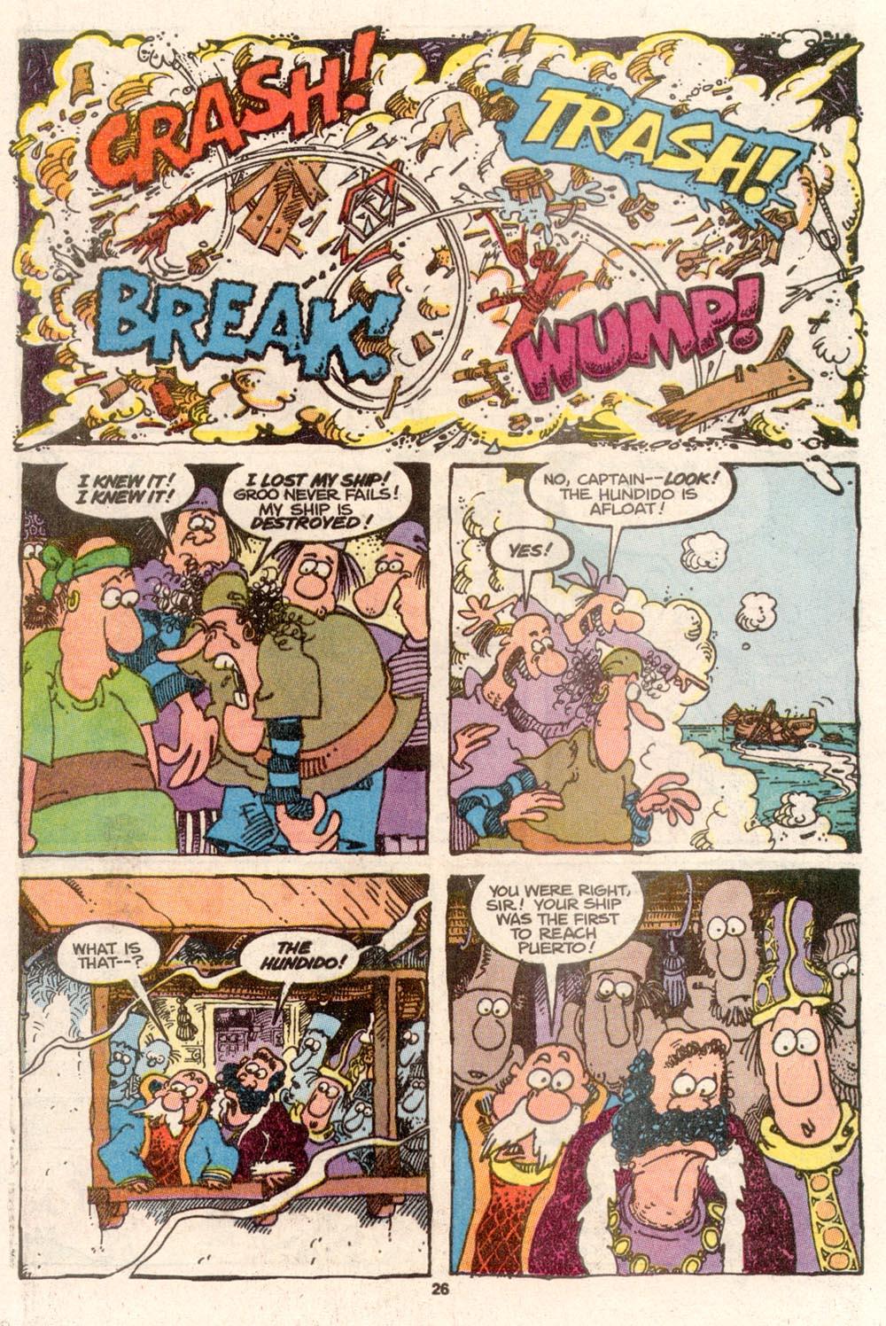 Read online Sergio Aragonés Groo the Wanderer comic -  Issue #69 - 21