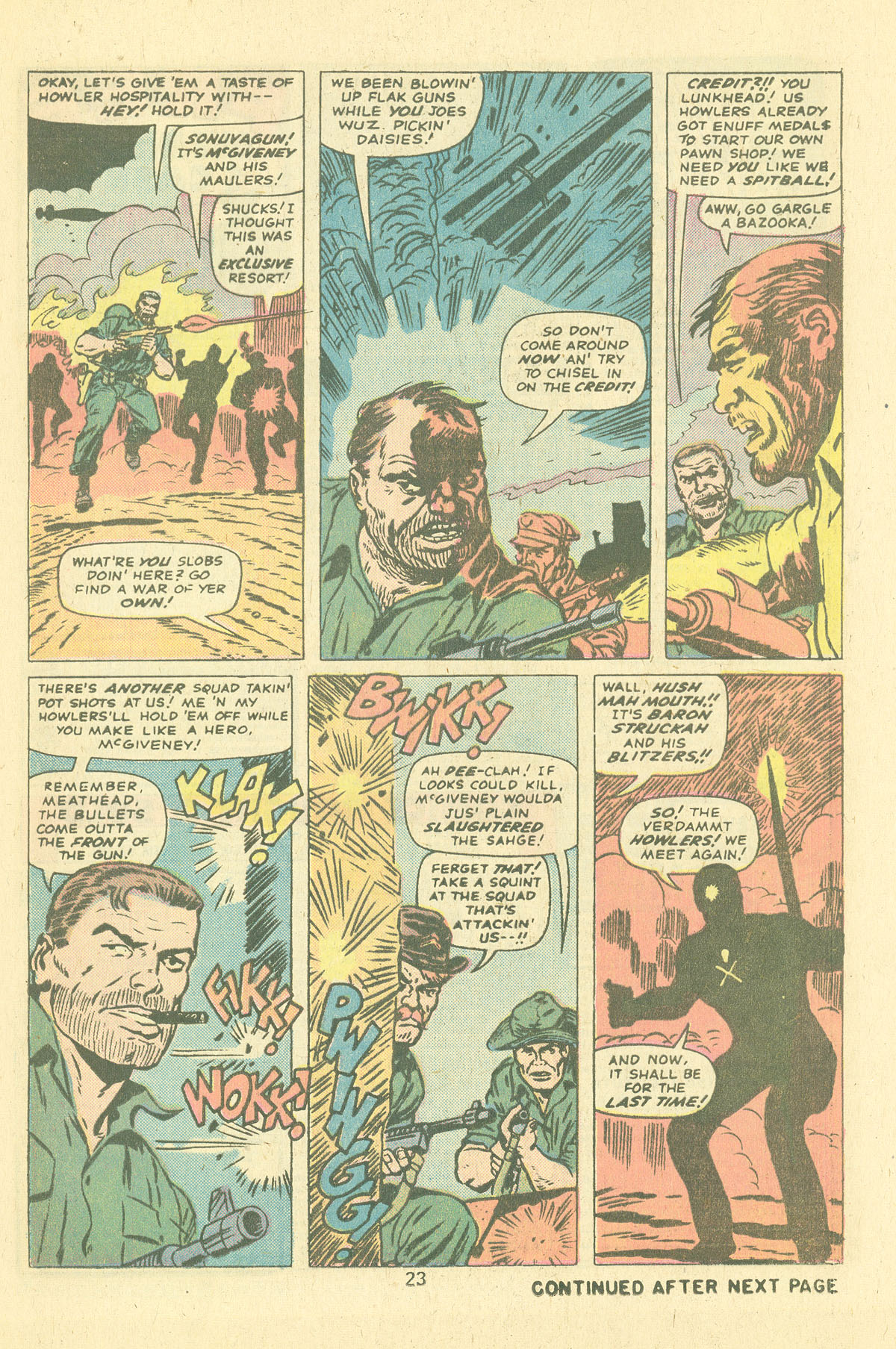 Read online Sgt. Fury comic -  Issue #124 - 25