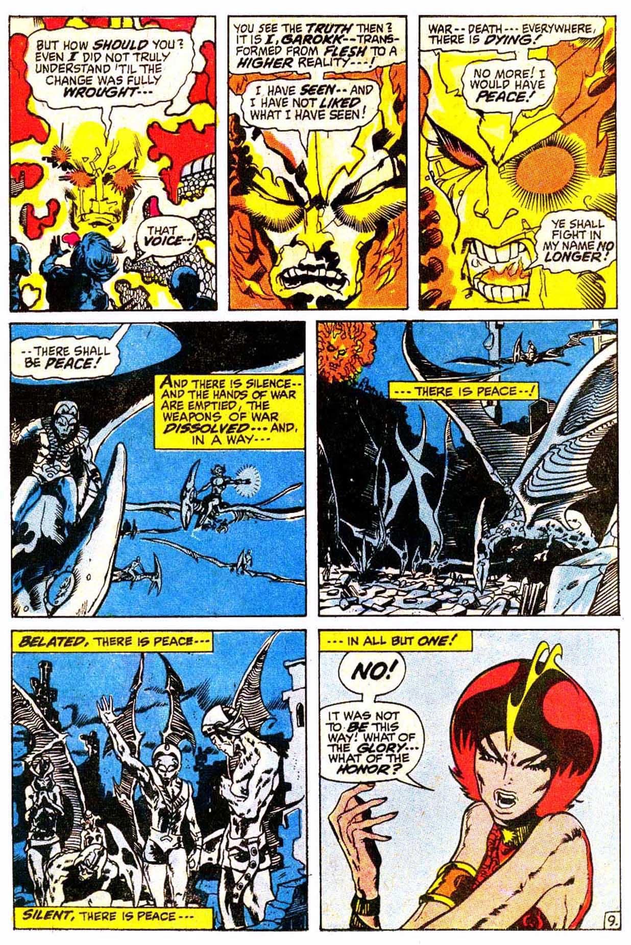 Read online Astonishing Tales (1970) comic -  Issue #4 - 20