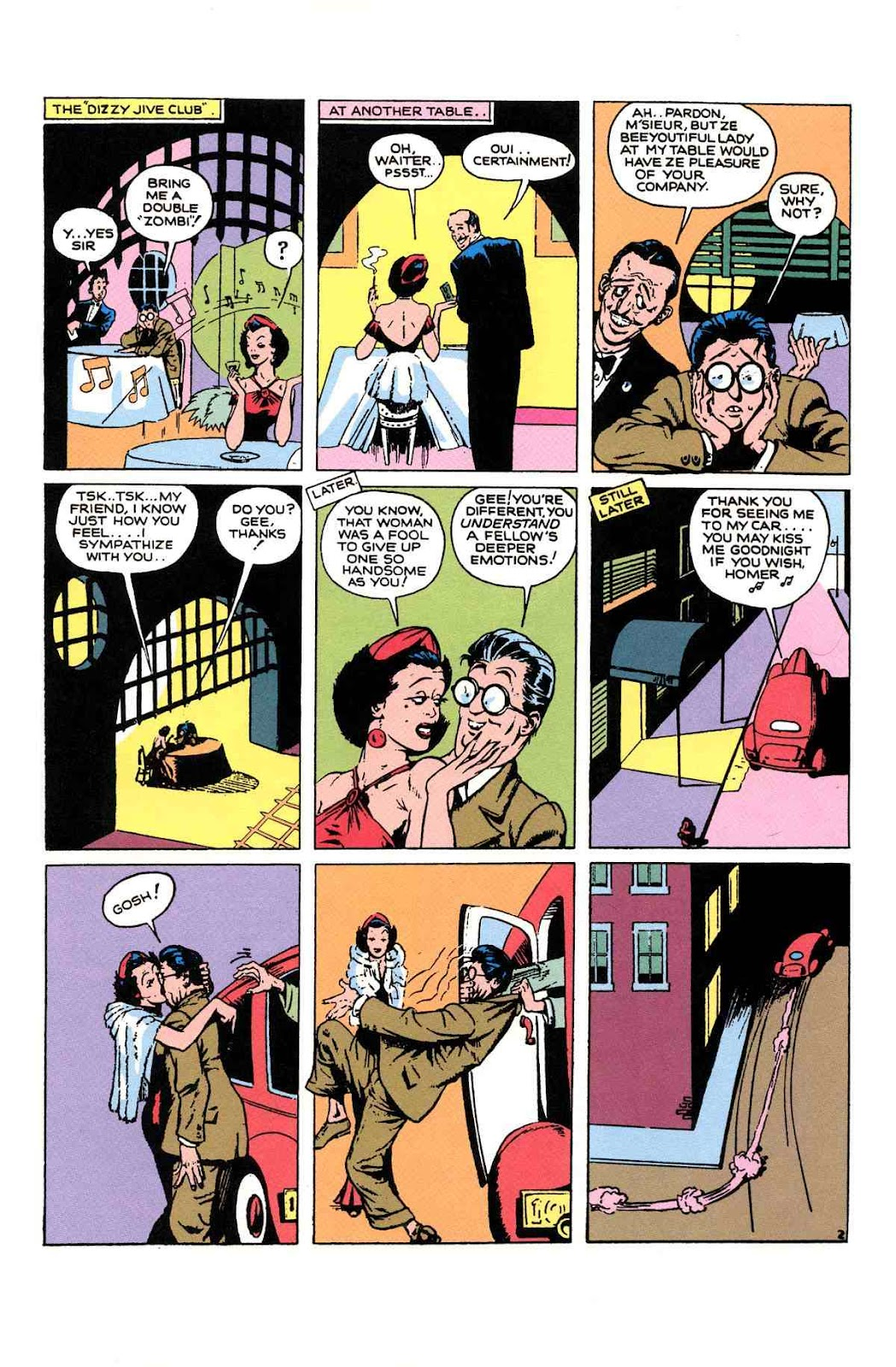 Read online Will Eisner's The Spirit Archives comic -  Issue # TPB 1 (Part 2) - 22