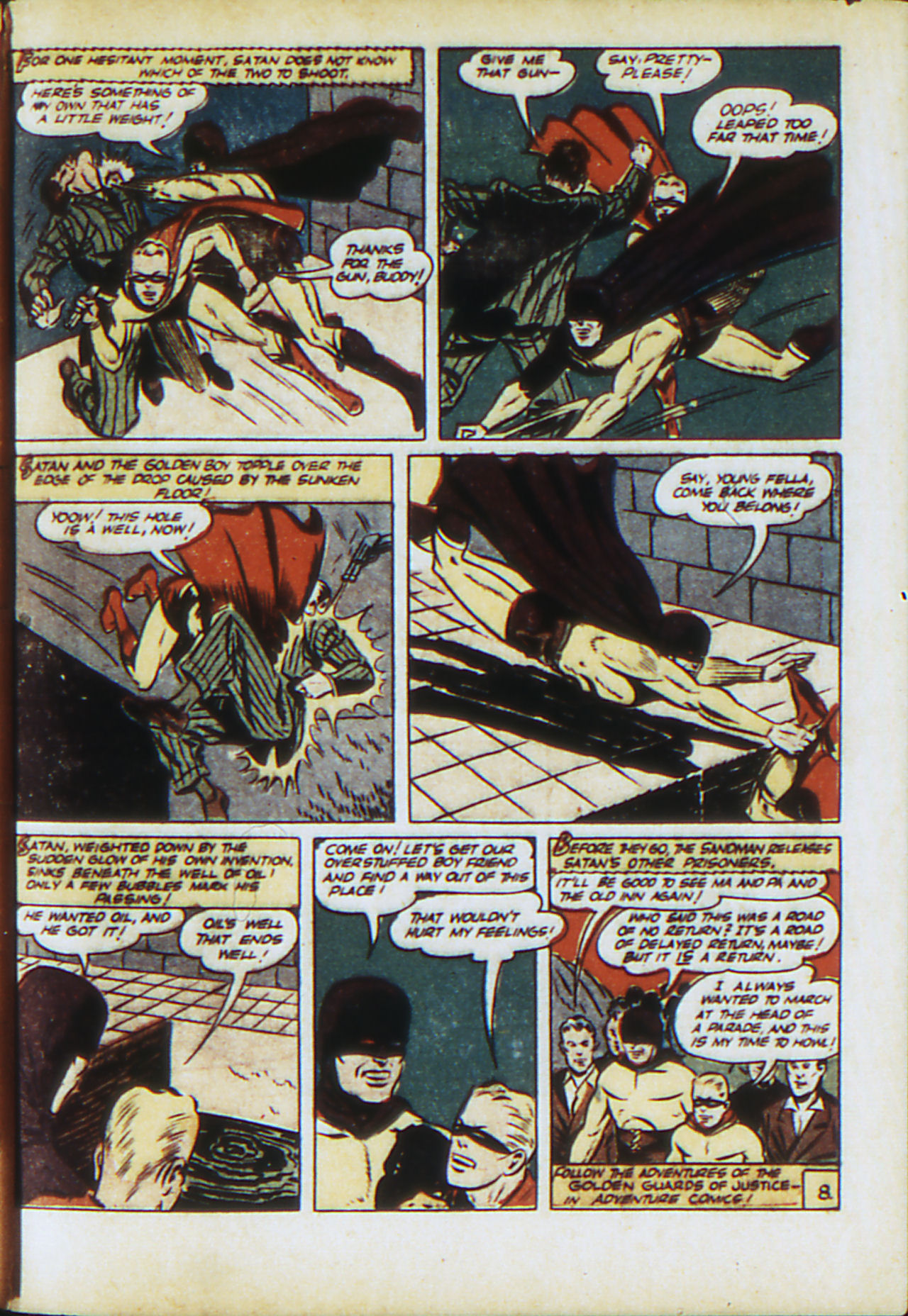 Read online Adventure Comics (1938) comic -  Issue #71 - 66