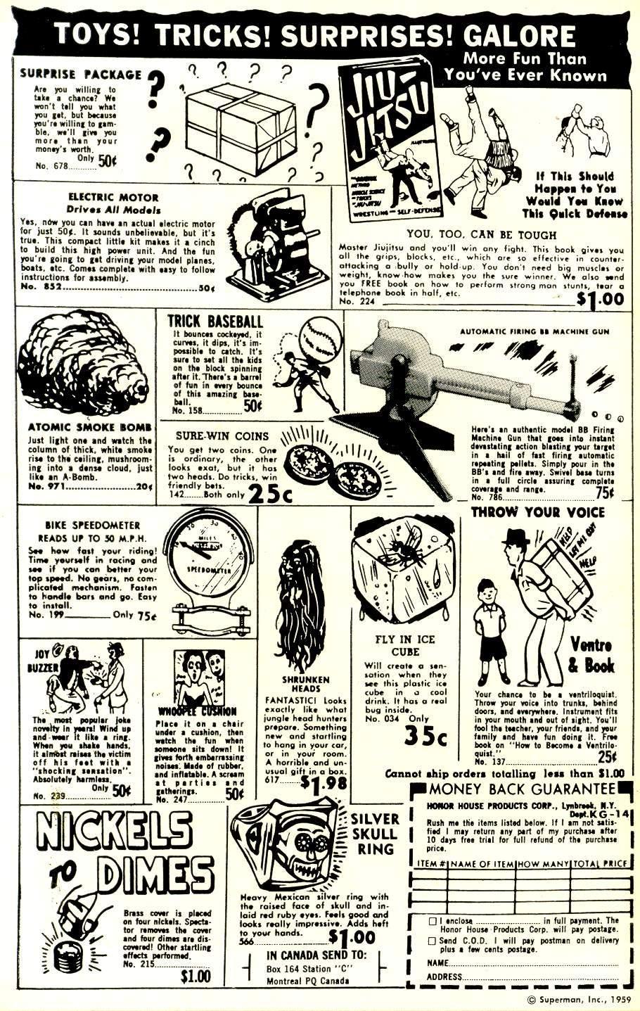 Read online Adventure Comics (1938) comic -  Issue #259 - 2