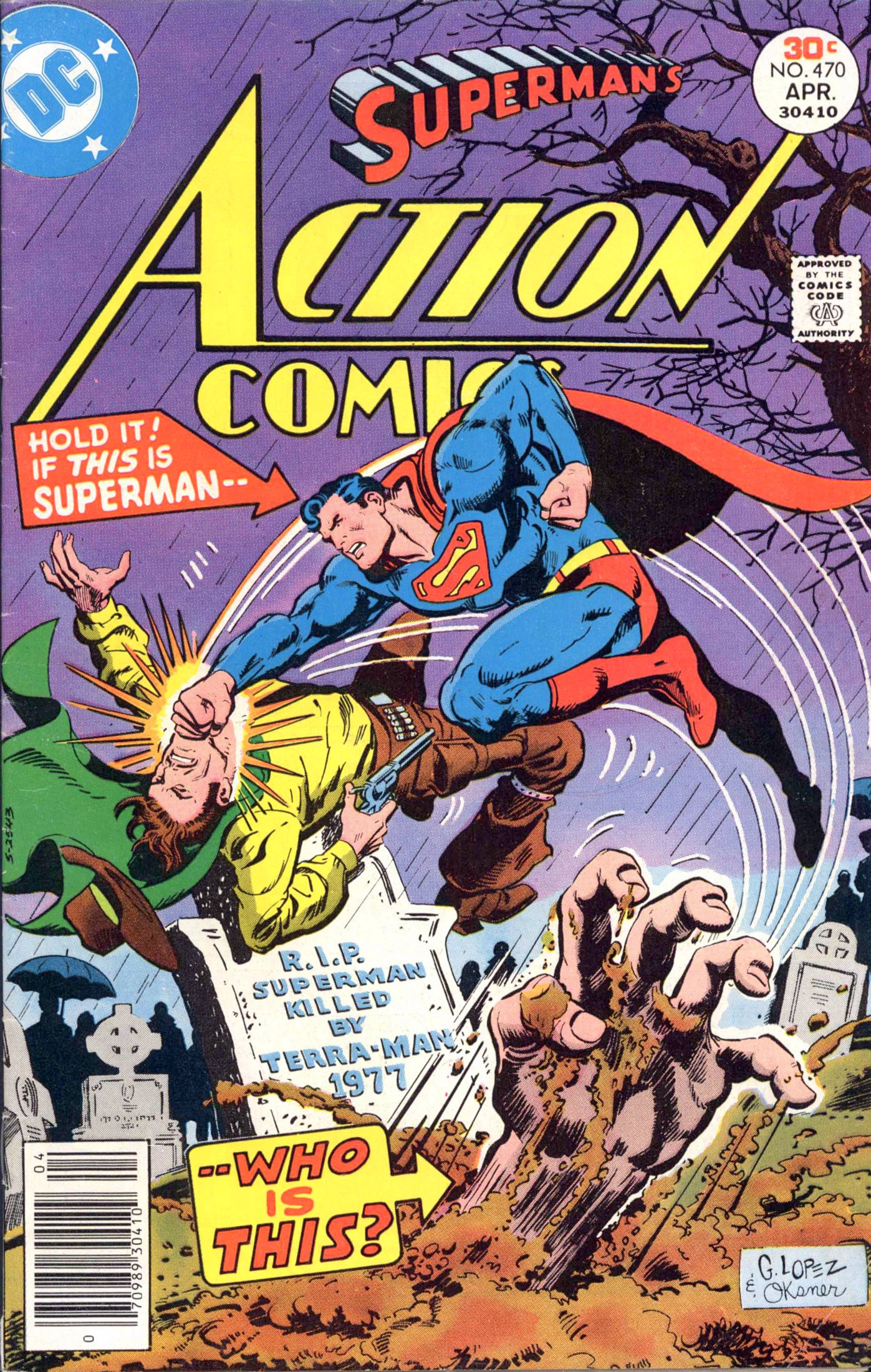 Read online Action Comics (1938) comic -  Issue #470 - 1