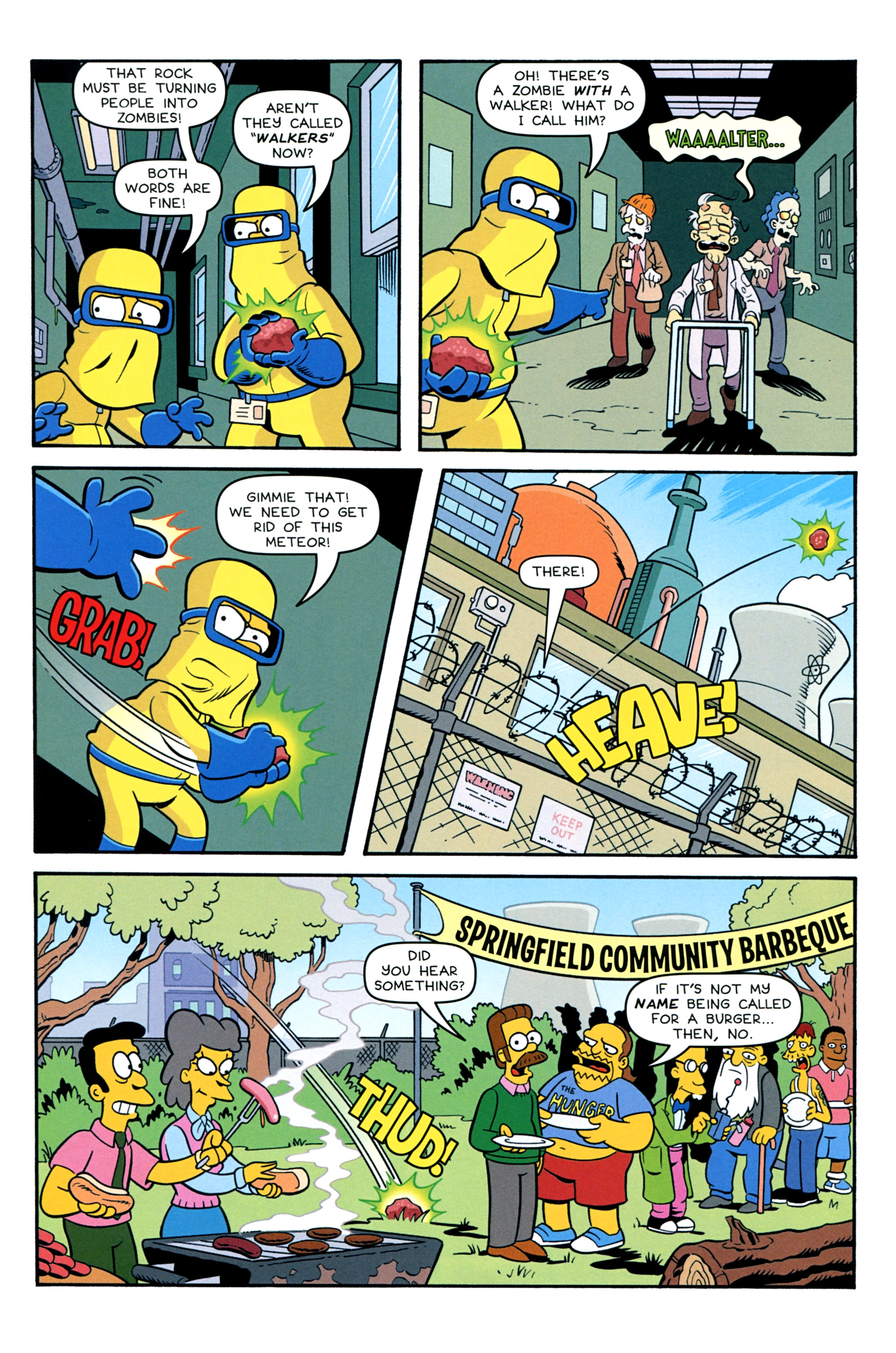 Read online Treehouse of Horror comic -  Issue #20 - 38