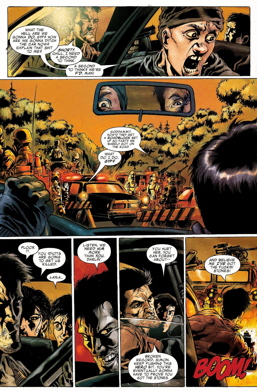 Read online Zombie (2006) comic -  Issue #1 - 6