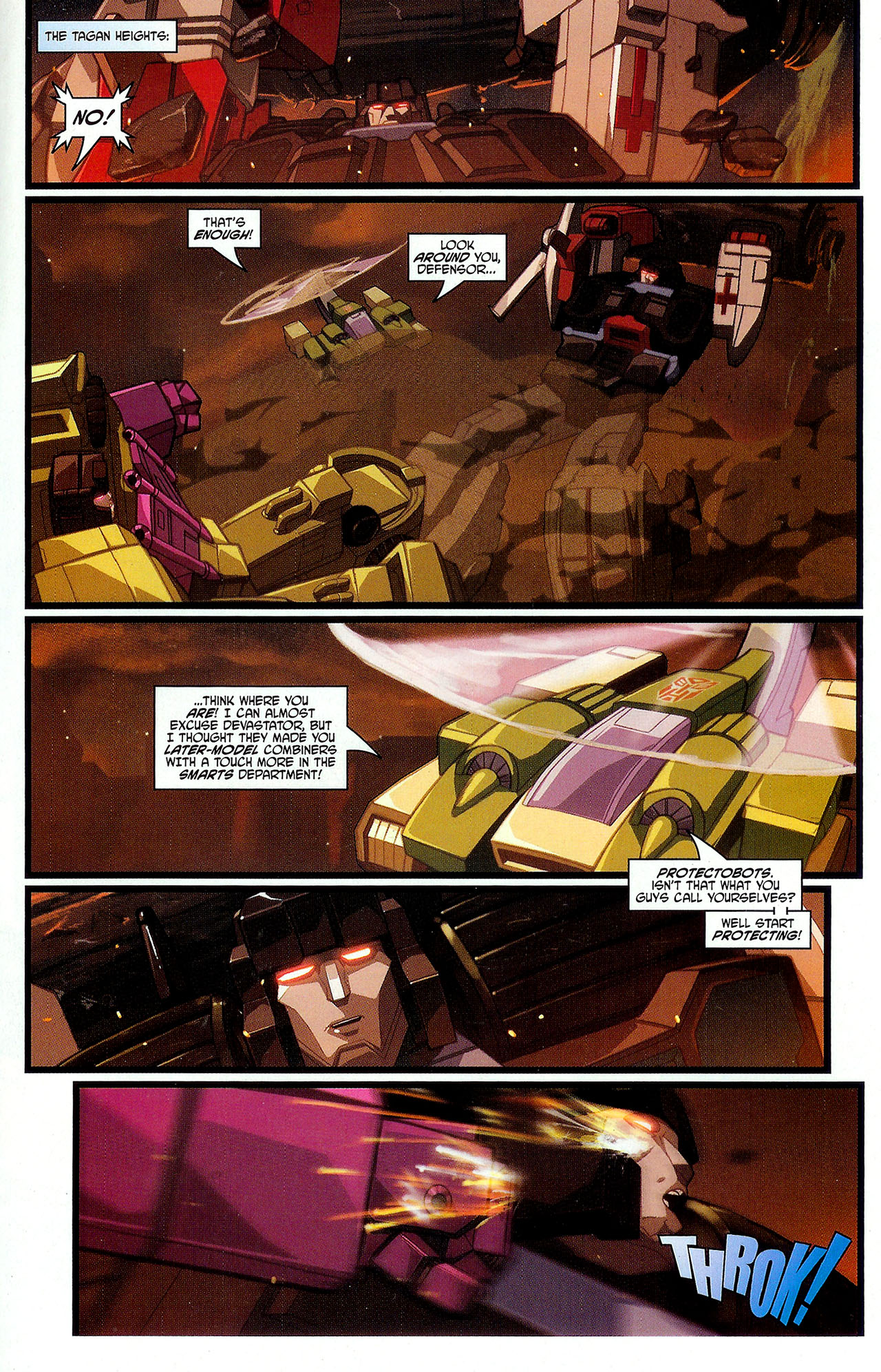 """Read online Transformers War Within: """"The Dark Ages"""" comic -  Issue #3 - 16"""