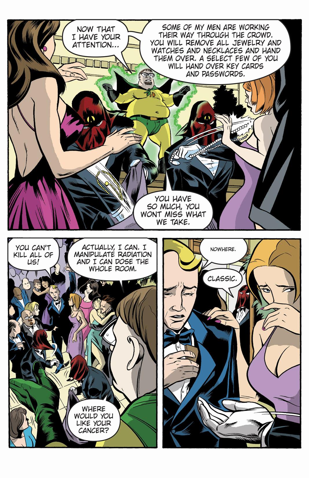 Read online SideChicks comic -  Issue #1 - 10