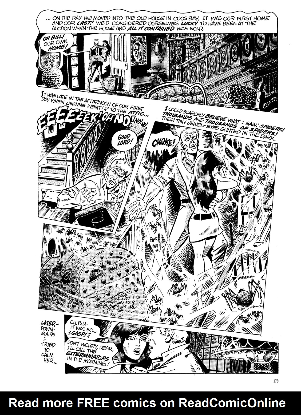Read online Eerie Archives comic -  Issue # TPB 5 - 180