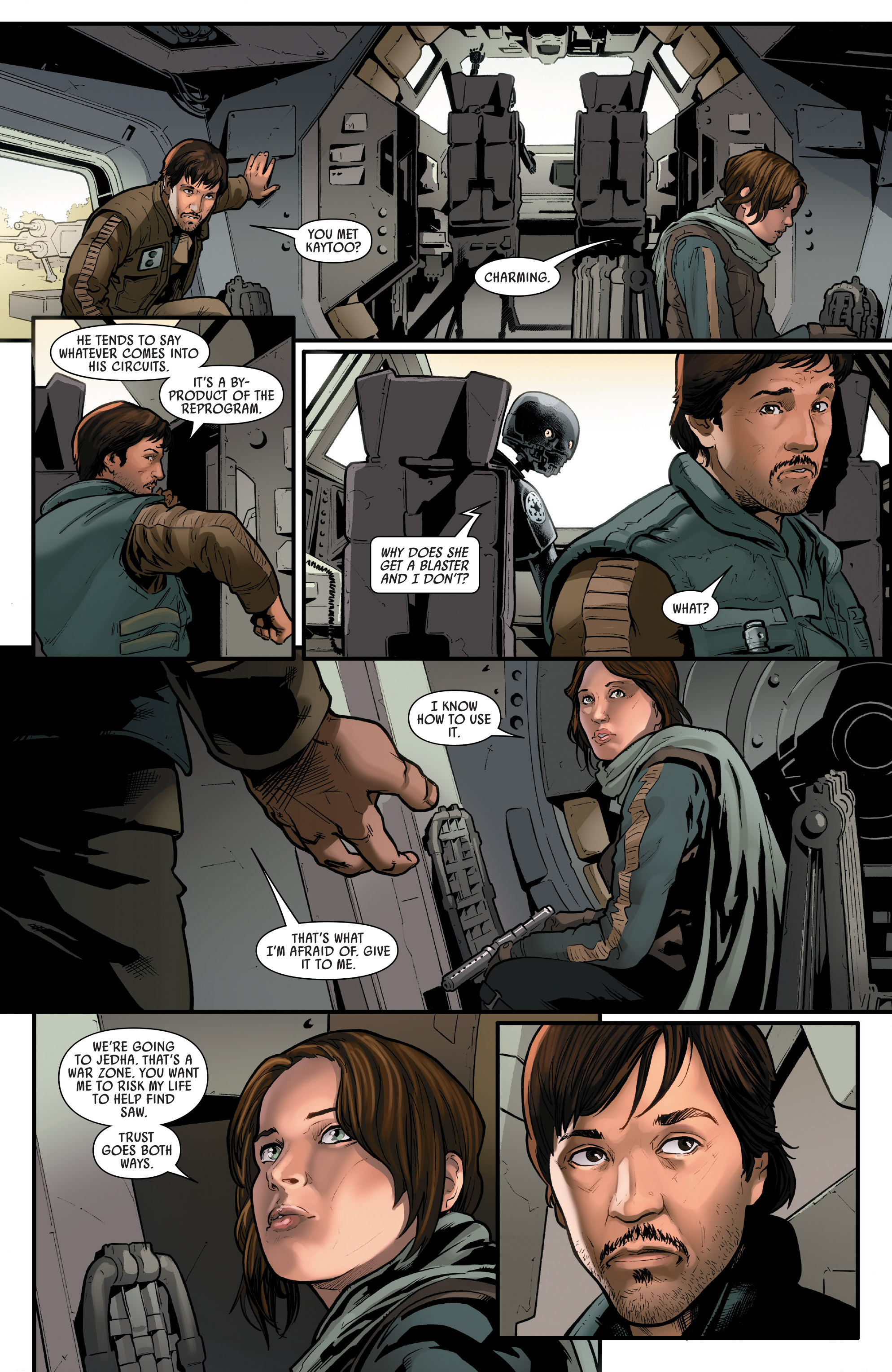 Read online Star Wars: Rogue One Adaptation comic -  Issue #1 - 28