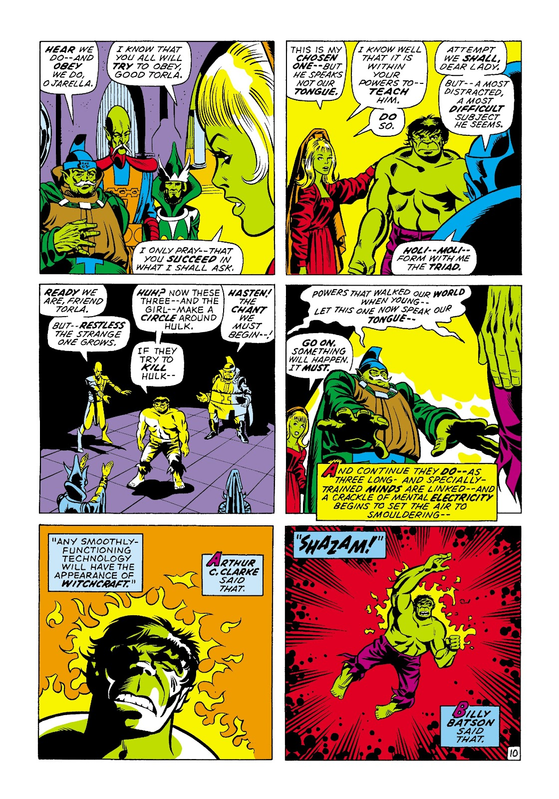 Read online Marvel Masterworks: The Incredible Hulk comic -  Issue # TPB 7 (Part 2) - 37