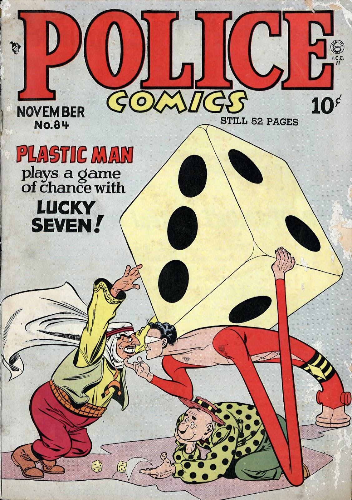 Police Comics 84 Page 1