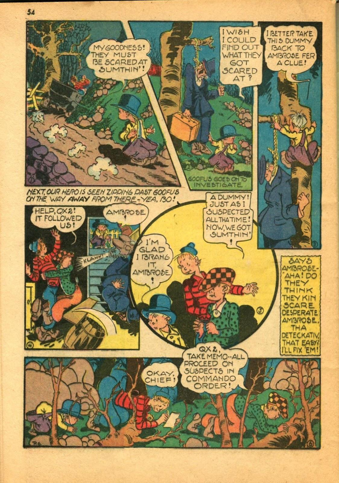 Read online Super-Magician Comics comic -  Issue #11 - 54