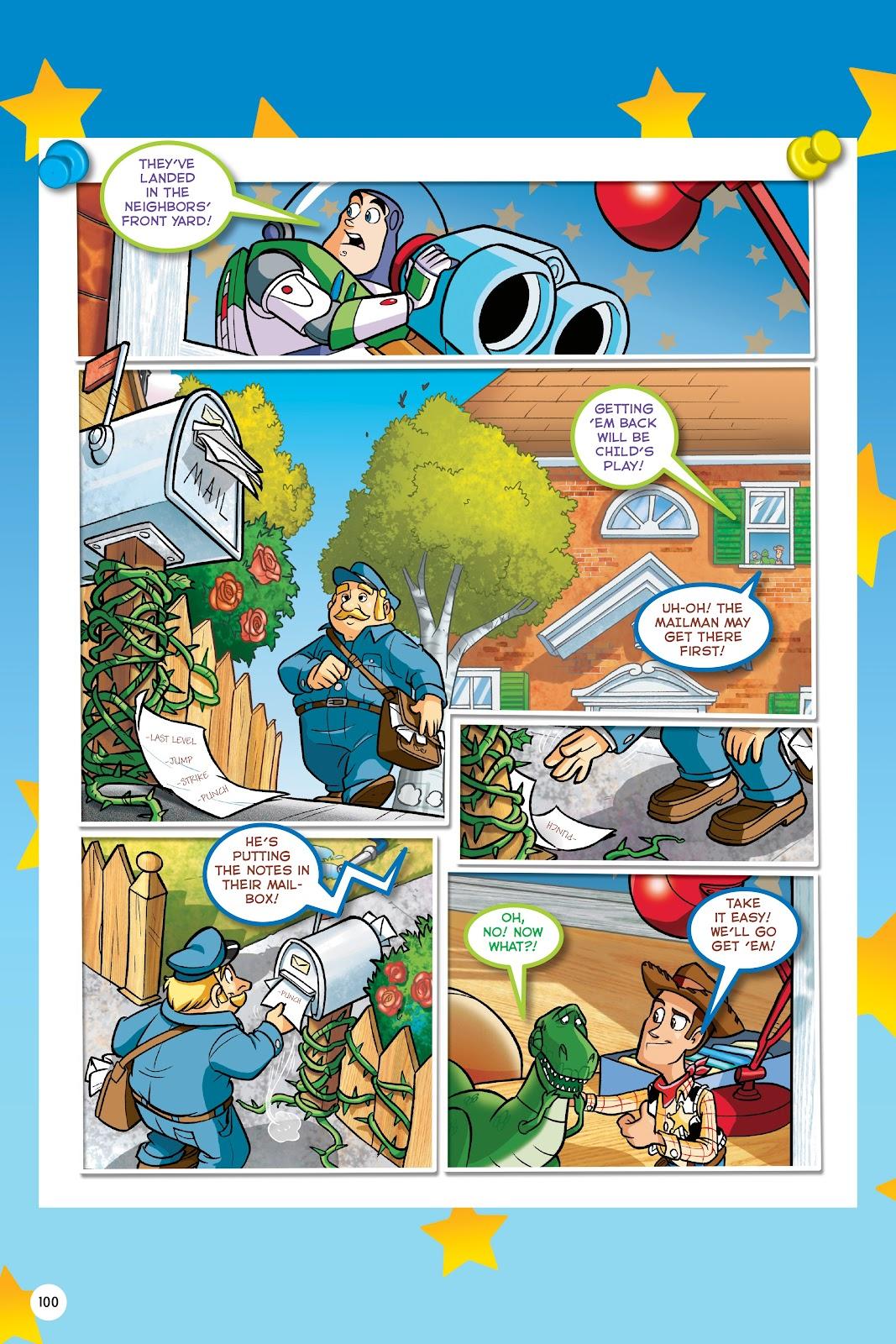 Read online DISNEY·PIXAR Toy Story Adventures comic -  Issue # TPB 1 (Part 1) - 100