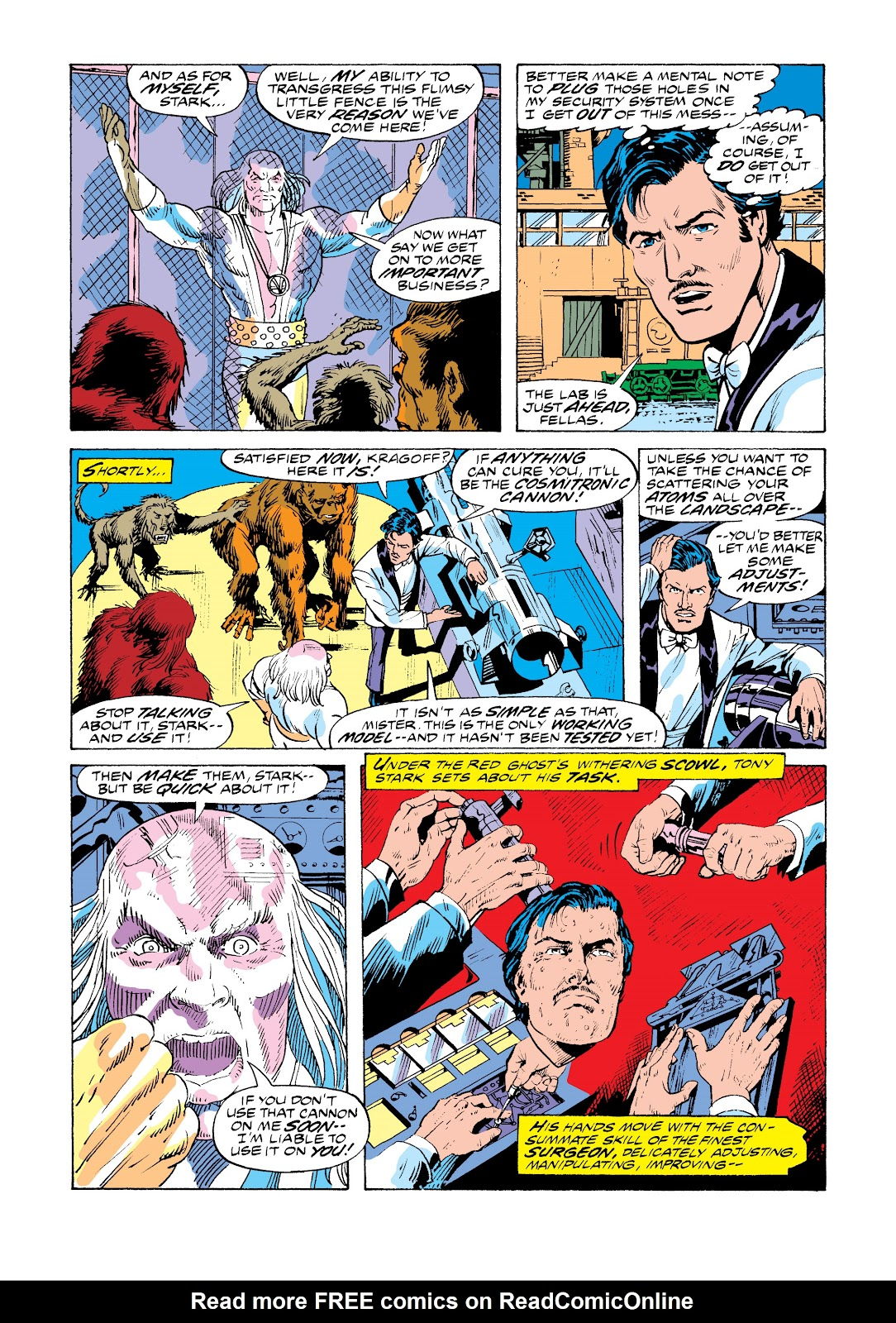 Read online Marvel Masterworks: The Invincible Iron Man comic -  Issue # TPB 11 (Part 1) - 36