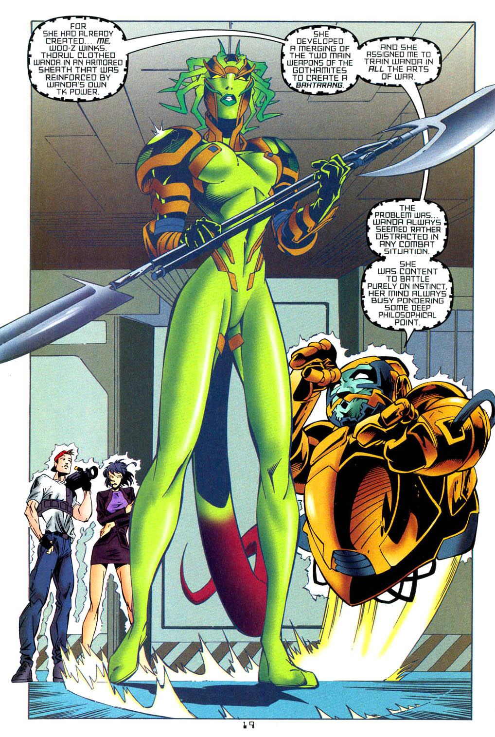 Read online Tangent Comics/ Wonder Woman comic -  Issue # Full - 19